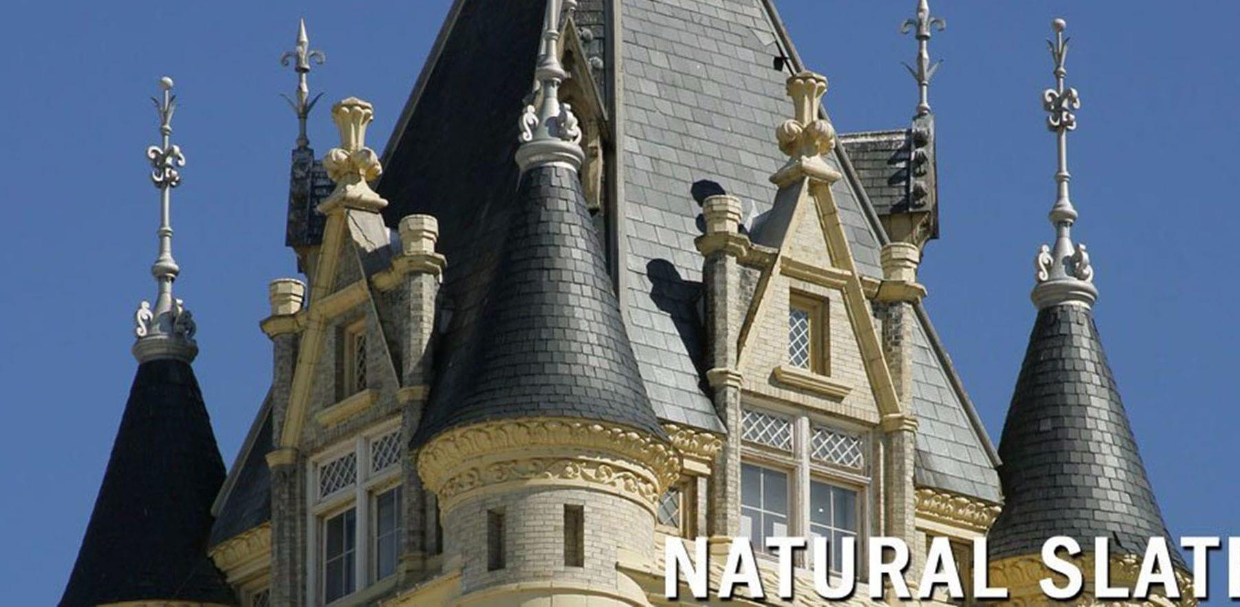 Lifestiles - Canadian Natural Slate Roof Tiles - Various, England 4