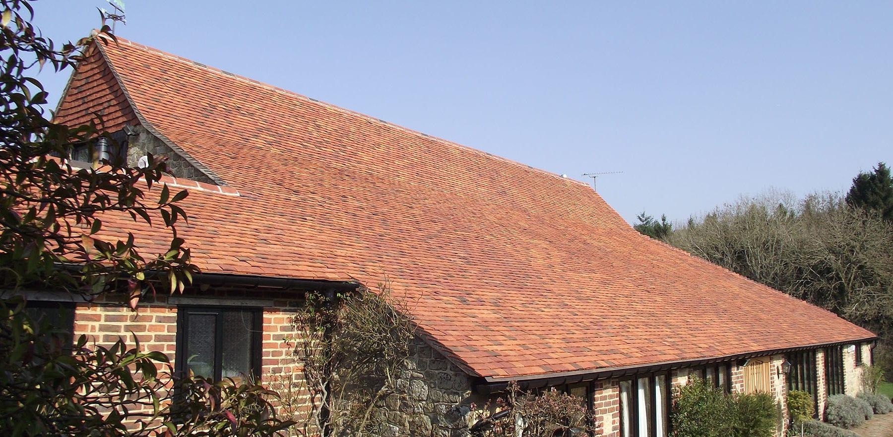 Lifestiles - Handmade Multi Clay Roof Tiles - Fernhurst, England 4