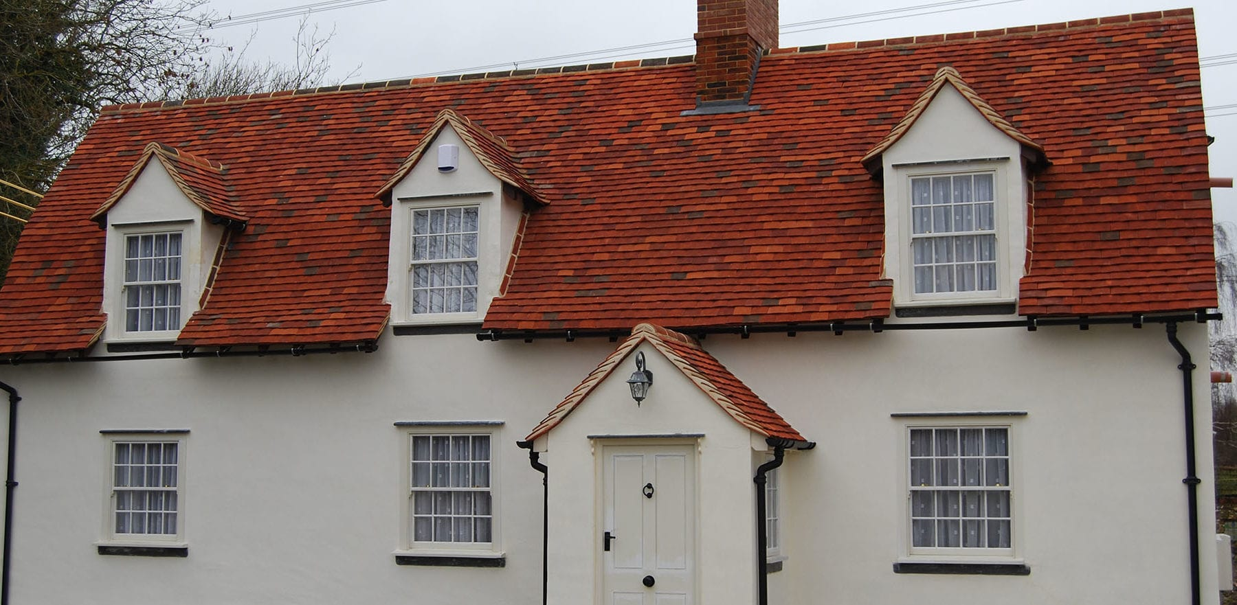 Lifestiles - Handmade Multi Clay Roof Tiles - Gainsford End, England 6