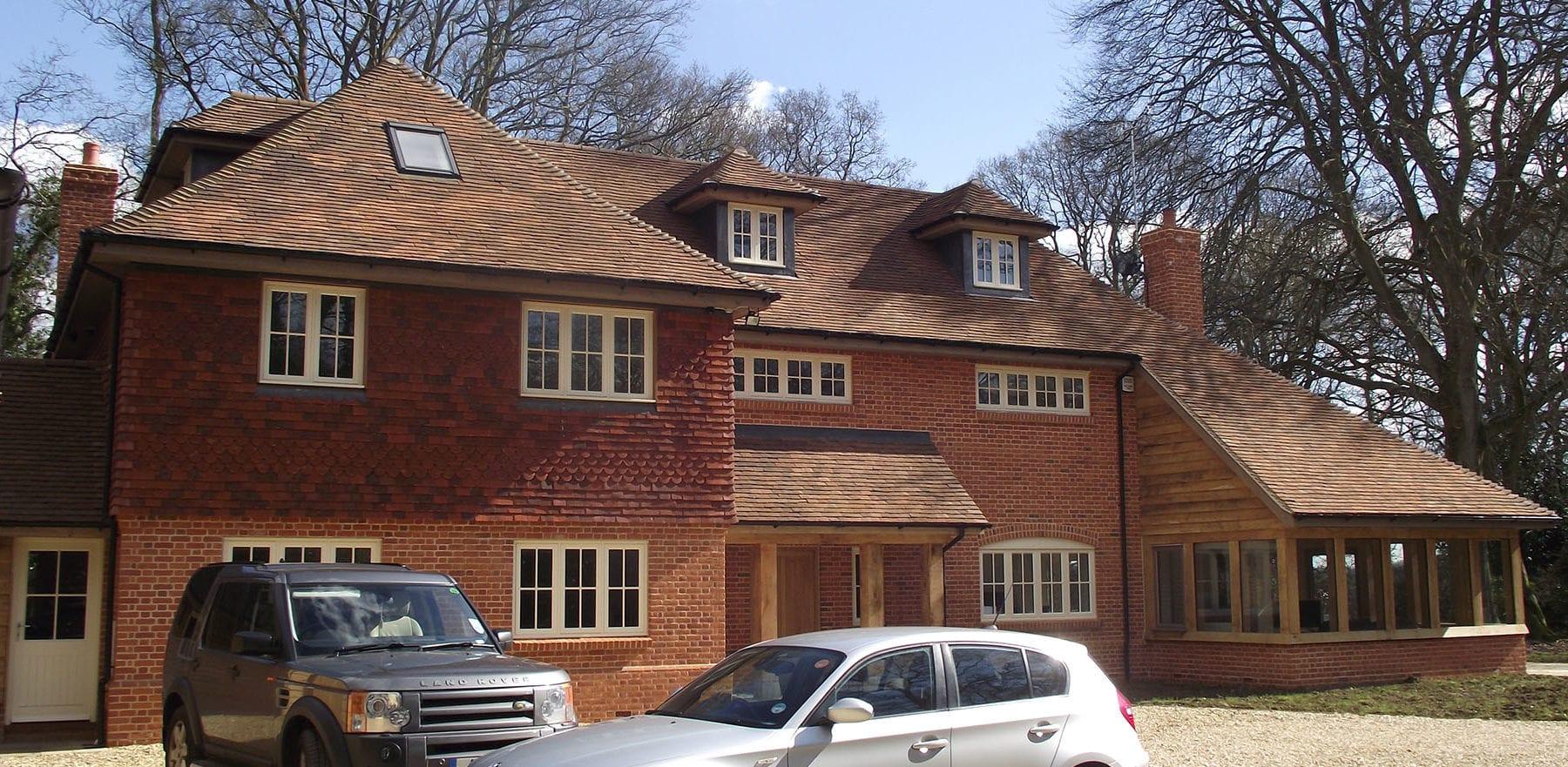Lifestiles - Handmade Brown Clay Roof Tiles - Romsey, England 4