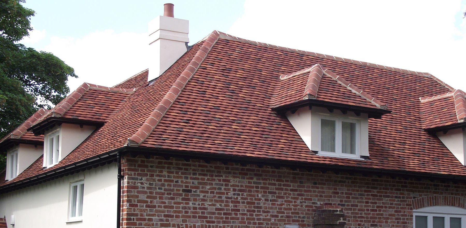 Lifestiles - Handmade Multi Clay Roof Tiles - Stanstead, England 4