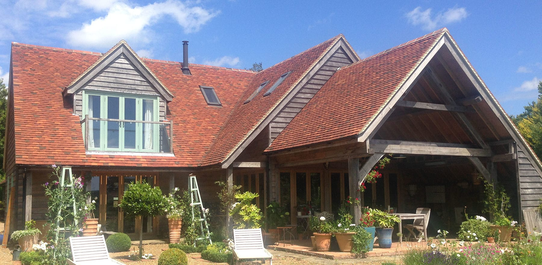 Lifestiles - Handmade Multi Clay Roof Tiles - Stephen Evans Architect, England 4