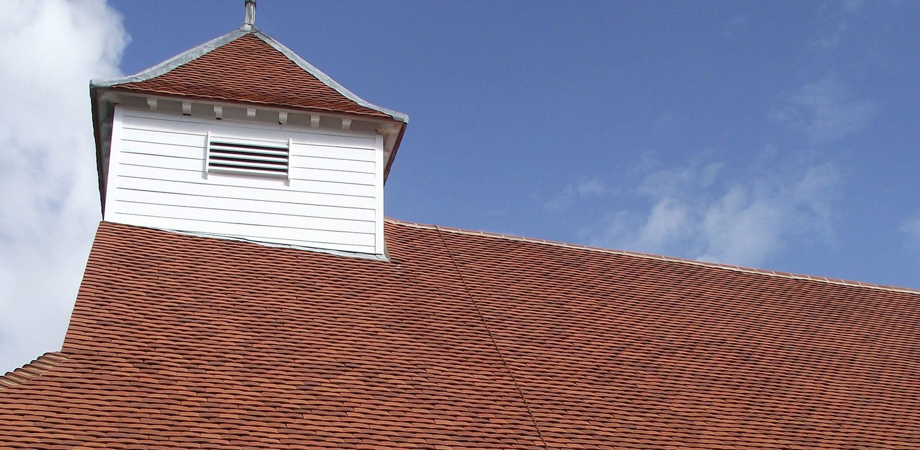 Lifestiles - Handmade Orange Clay Roof Tiles - Sulhampstead Abbot, England 4