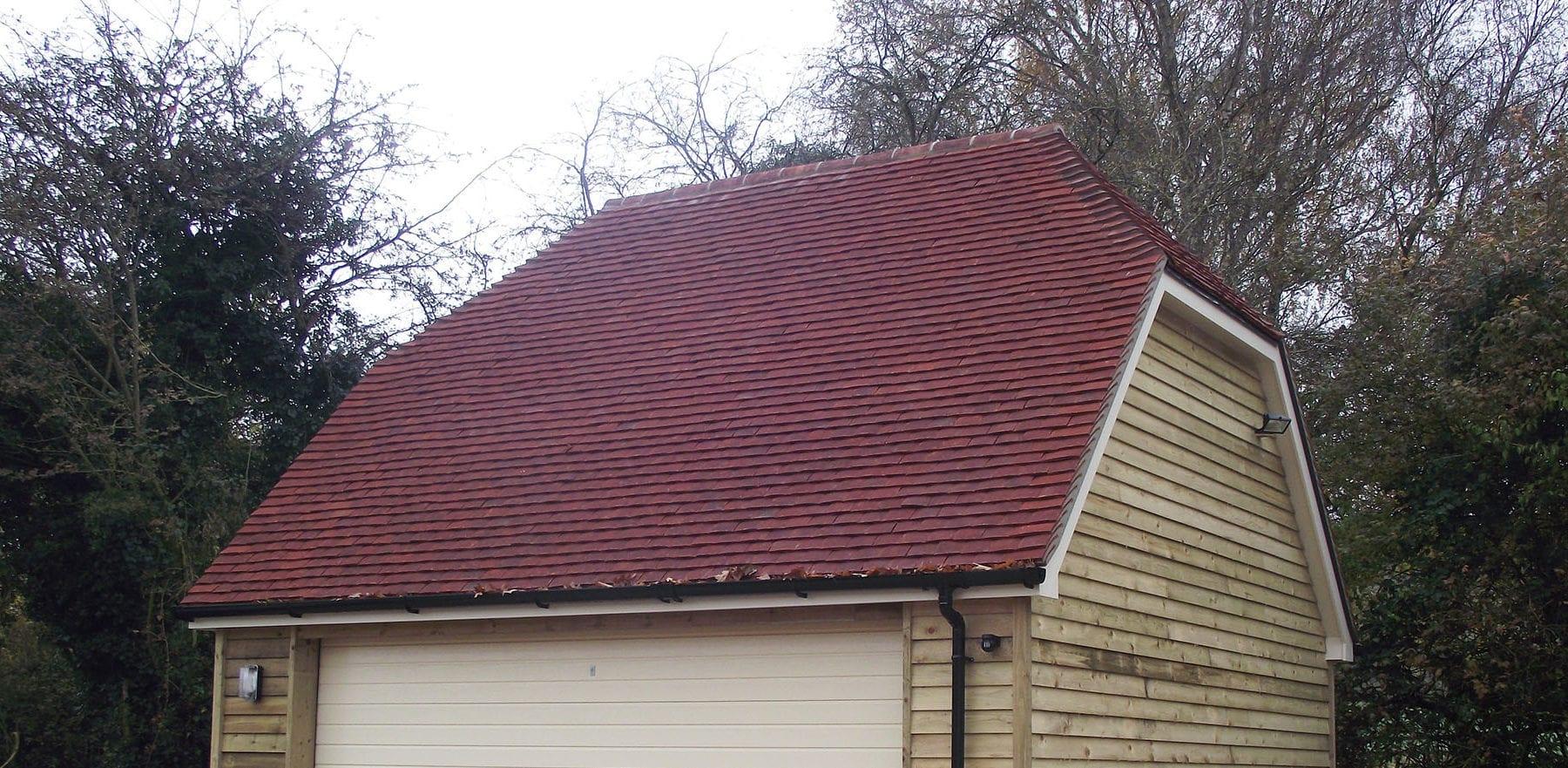 Lifestiles - Handmade Heather Clay Roof Tiles - Favant, England 3