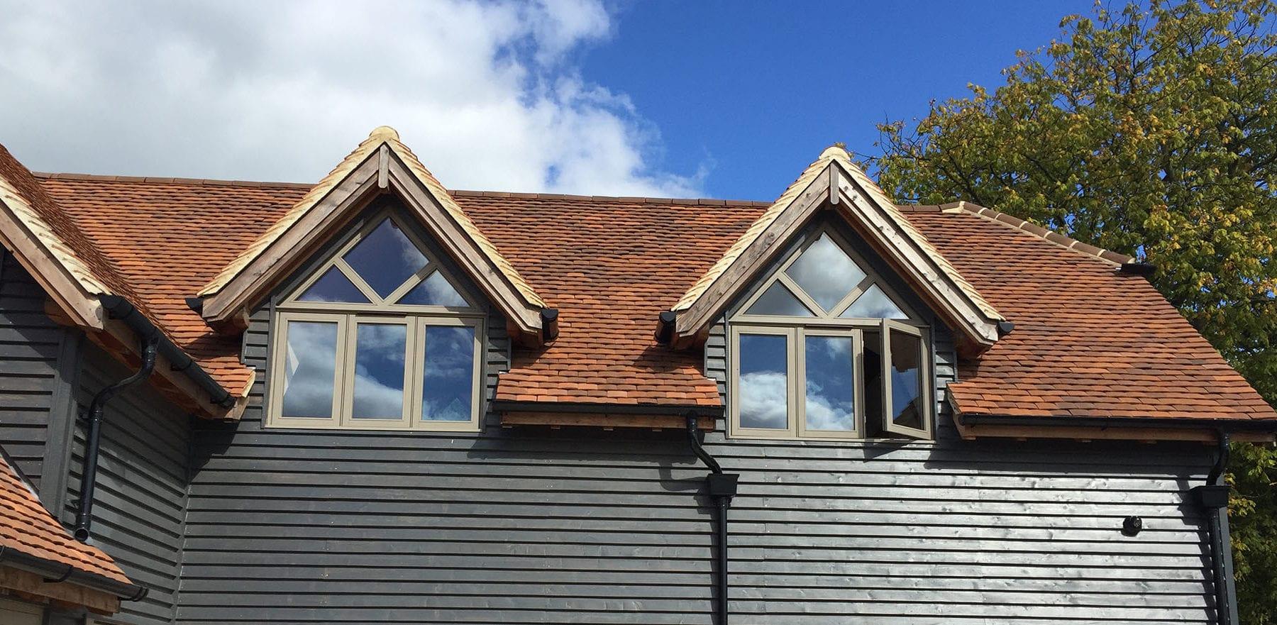 Lifestiles - Handmade Brown Clay Roof Tiles - Midgham, England 3