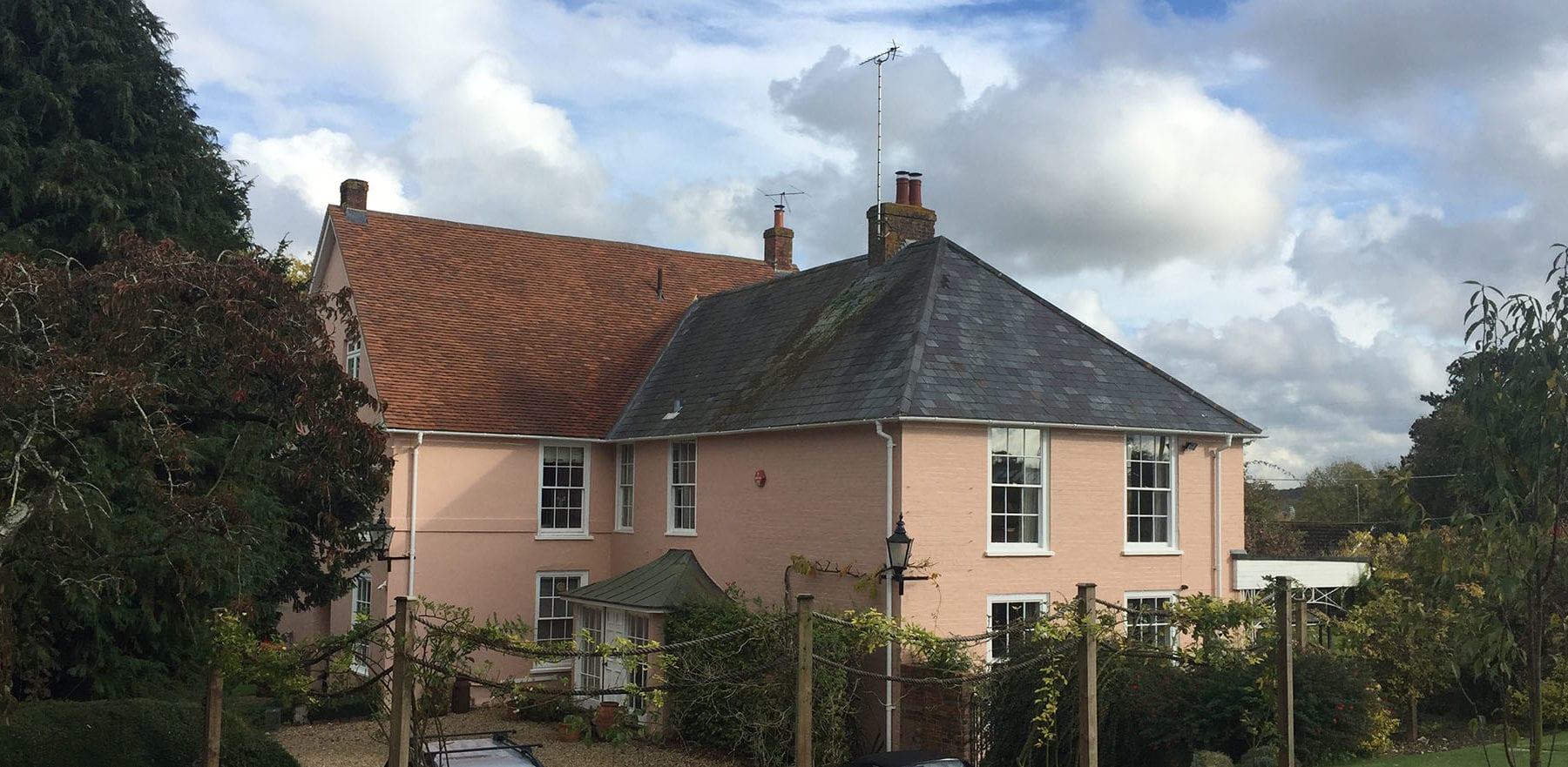 Lifestiles - Handmade Brown Clay Roof Tiles - Stockbridge, England 3