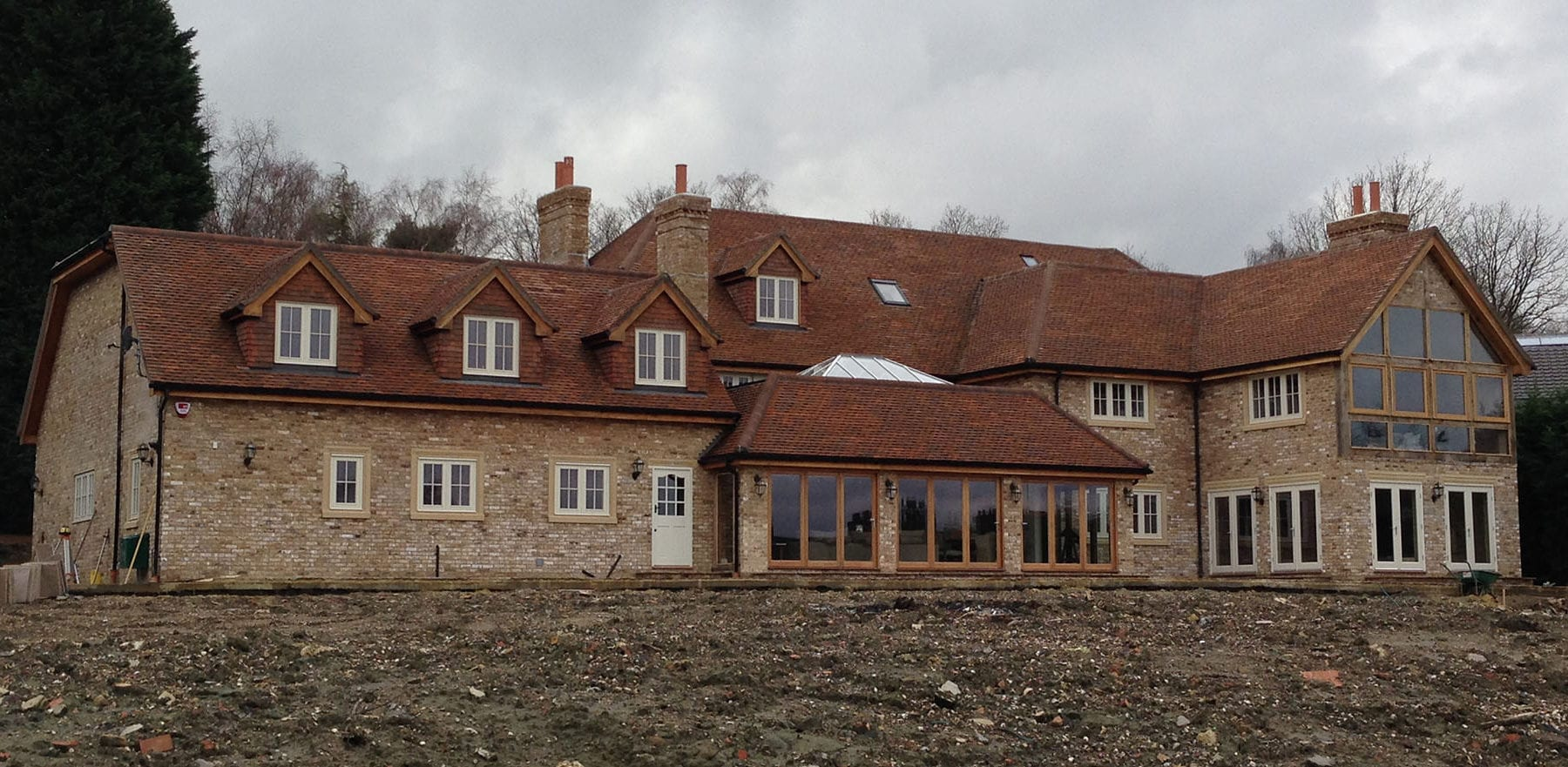 Lifestiles - Handmade Brown Clay Roof Tiles - Sunningdale, England 3