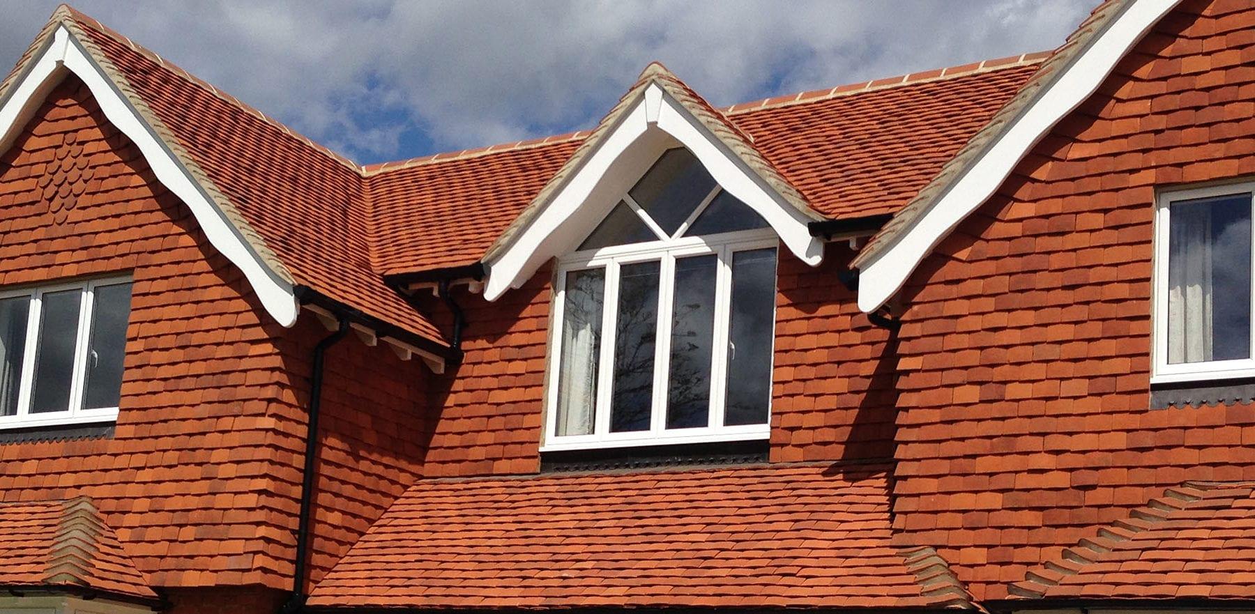 Lifestiles - Handmade Orange Clay Roof Tiles - Bookham, England 3