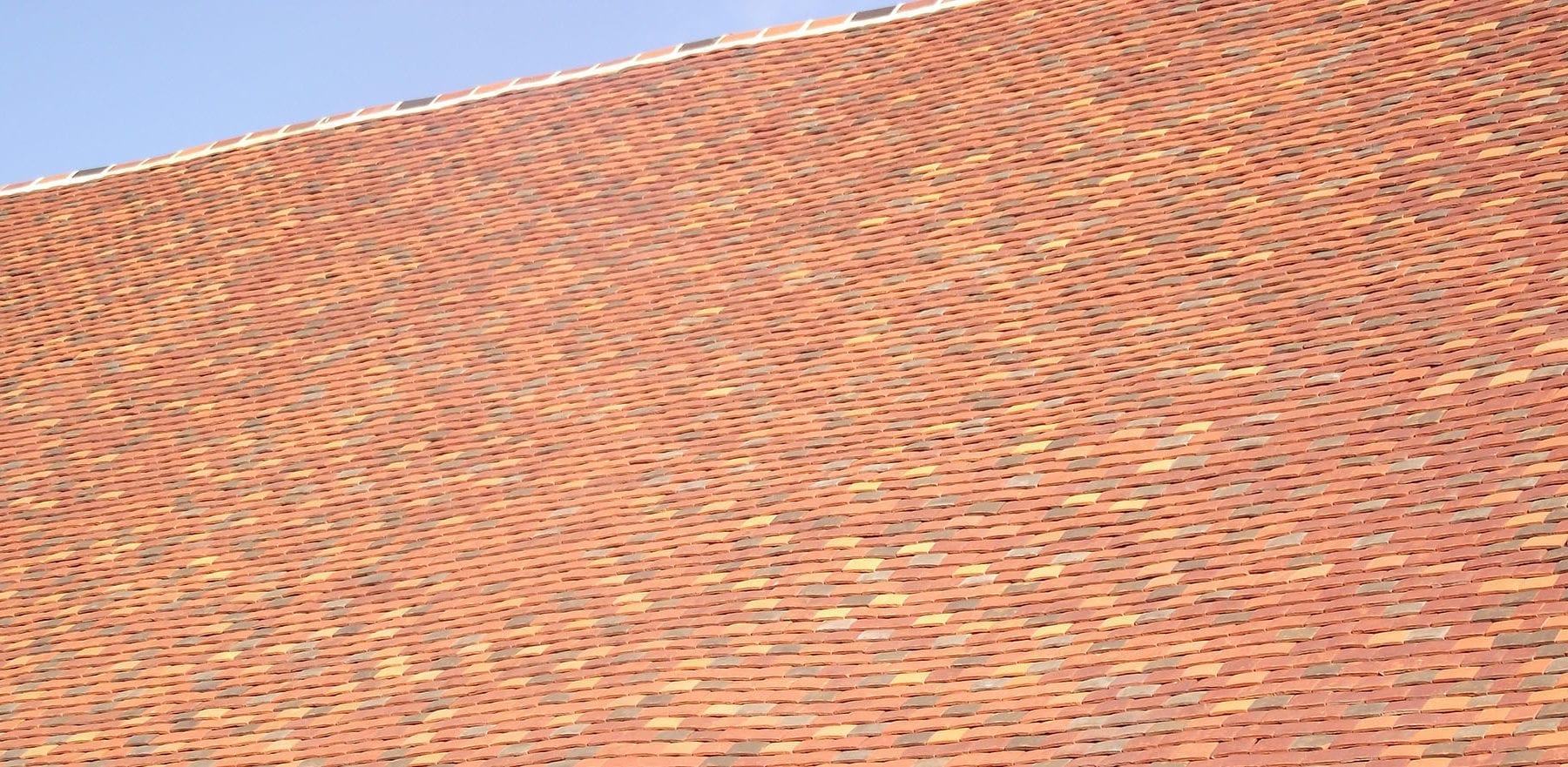 Lifestiles - Handmade Bespoke Clay Roof Tiles - Pelsham Barns, England 3