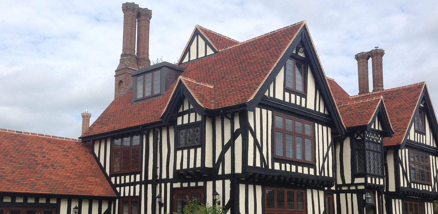 Lifestiles - Handmade Bespoke Clay Roof Tiles - Tudor Park, England 3