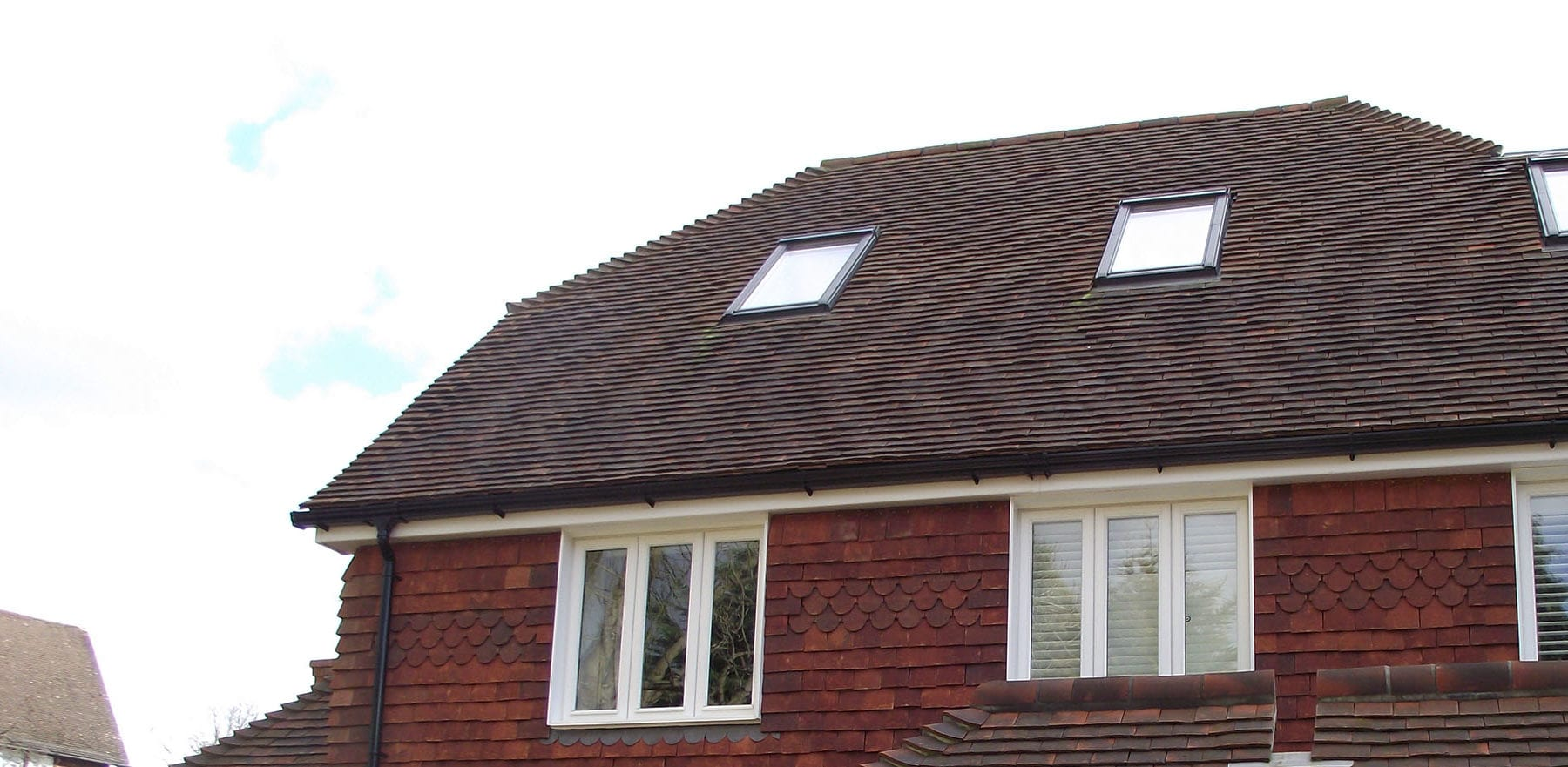 Lifestiles - Handcrafted Autumn Clay Roof Tiles - Seven Oaks, England 3