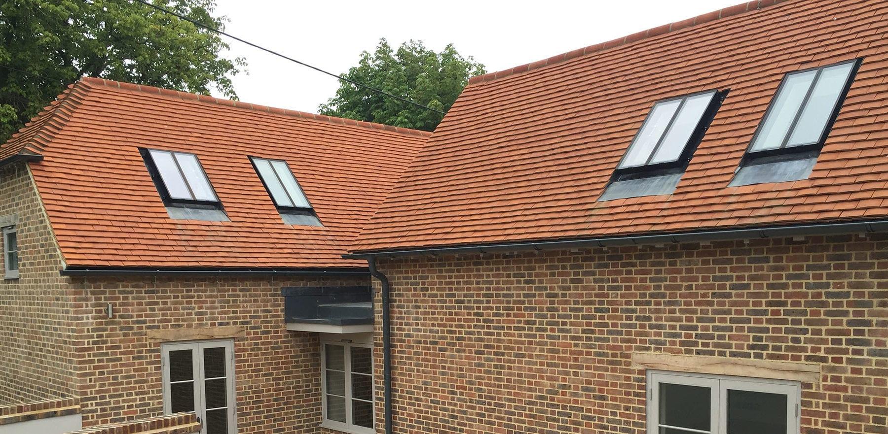 Lifestiles - Handcrafted Orange Clay Roof Tiles - Aston, England 3