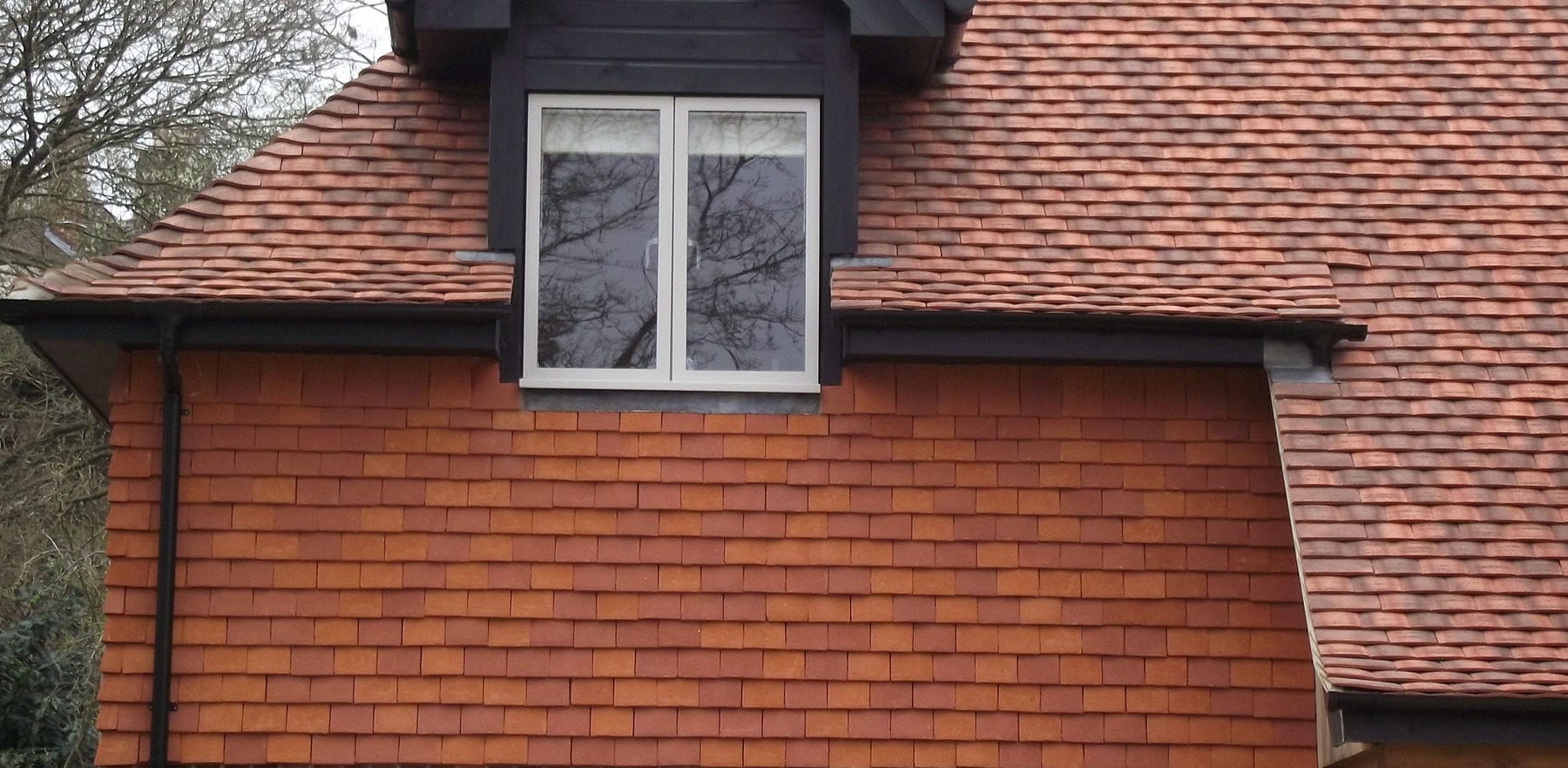 Lifestiles - Handcrafted Orange Clay Roof Tiles - Liss, England 3
