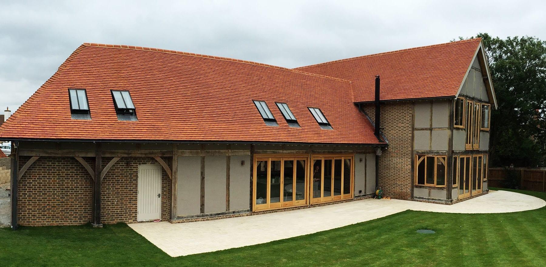 Lifestiles - Handcrafted Orange Clay Roof Tiles - Upthorpe, England 3