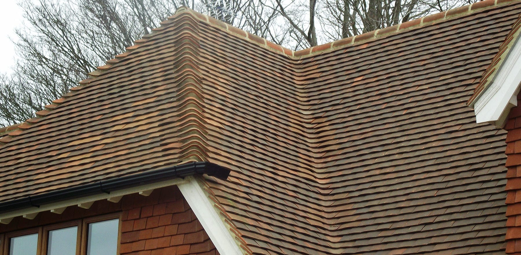Lifestiles - Handcrafted Autumn Clay Roof Tiles - Sussex, England 4