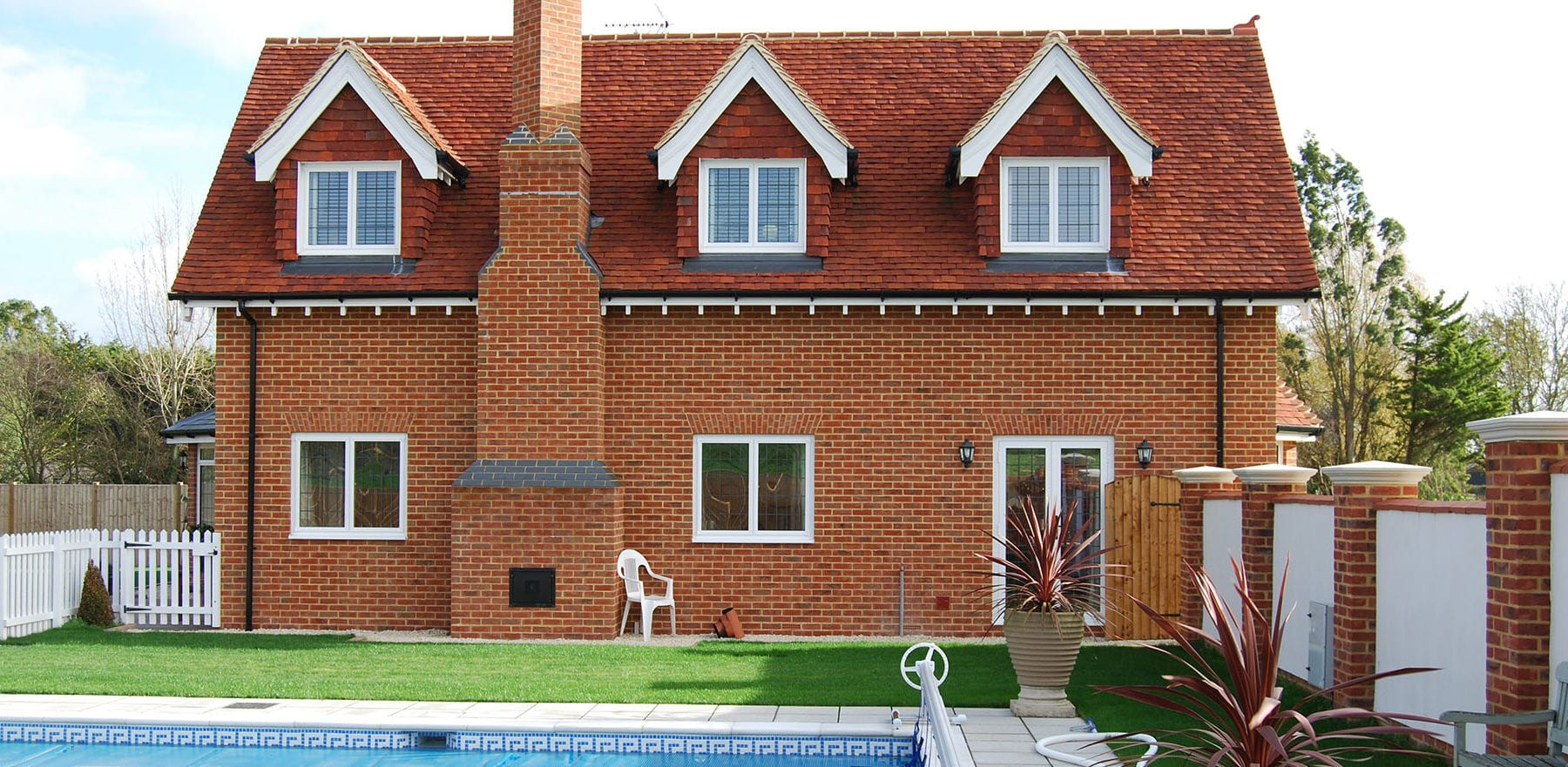 Lifestiles - Handmade Red Clay Roof Tiles - Rudley, England 3