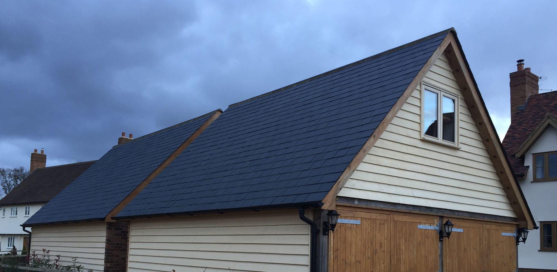 Lifestiles - Brazilian Natural Slate Roof Tiles - Farnham, England 5