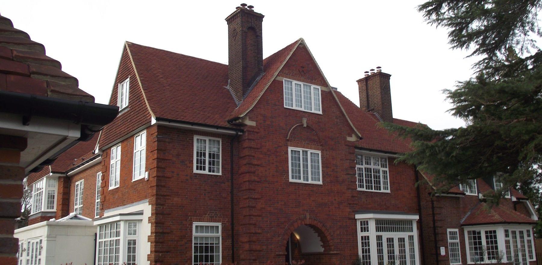 Lifestiles - Handmade Heather Clay Roof Tiles - Bickley, England 5