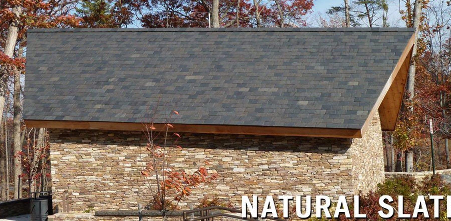 Lifestiles - Canadian Natural Slate Roof Tiles - Various, England 5