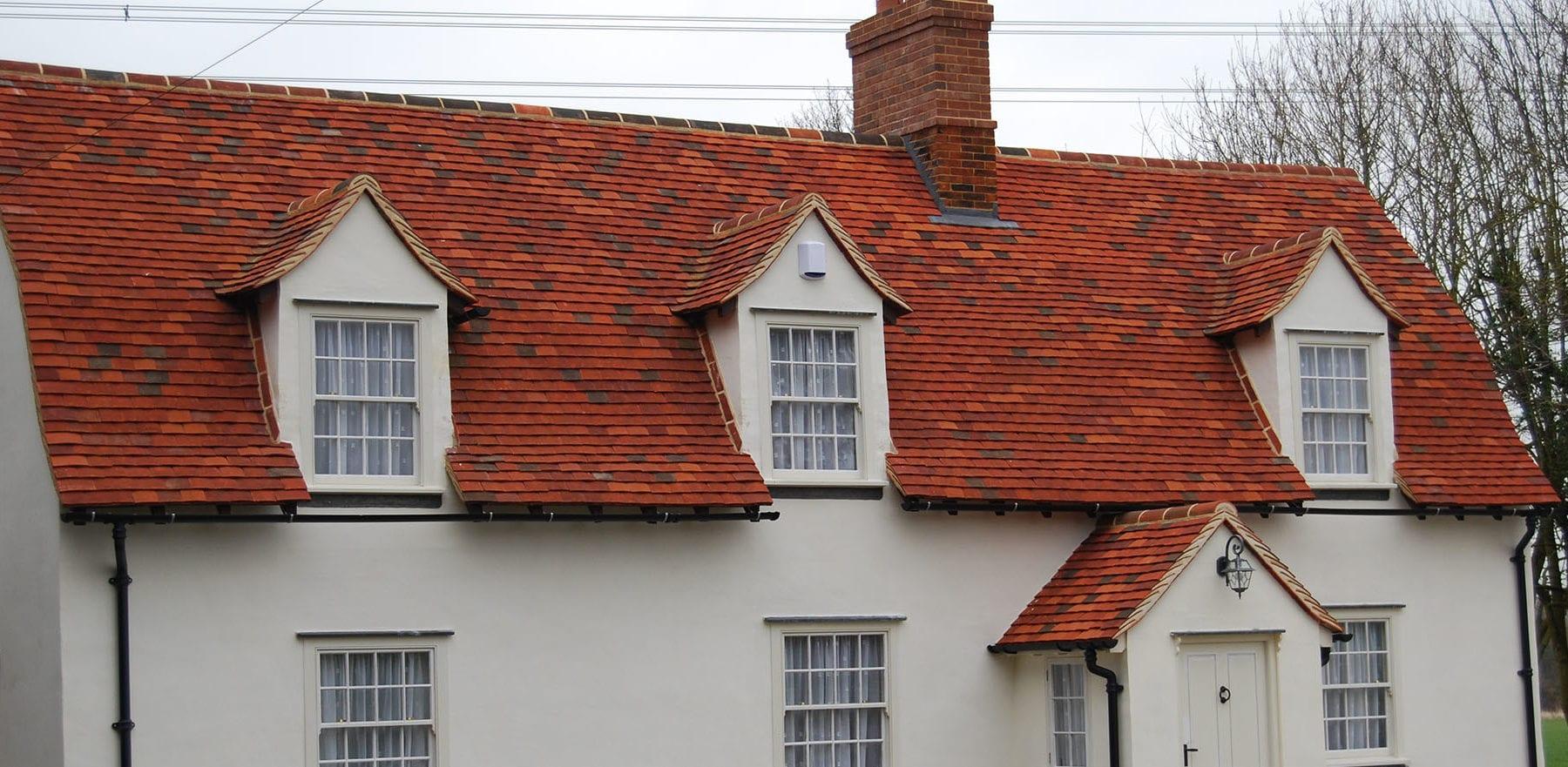 Lifestiles - Handmade Multi Clay Roof Tiles - Gainsford End, England 7