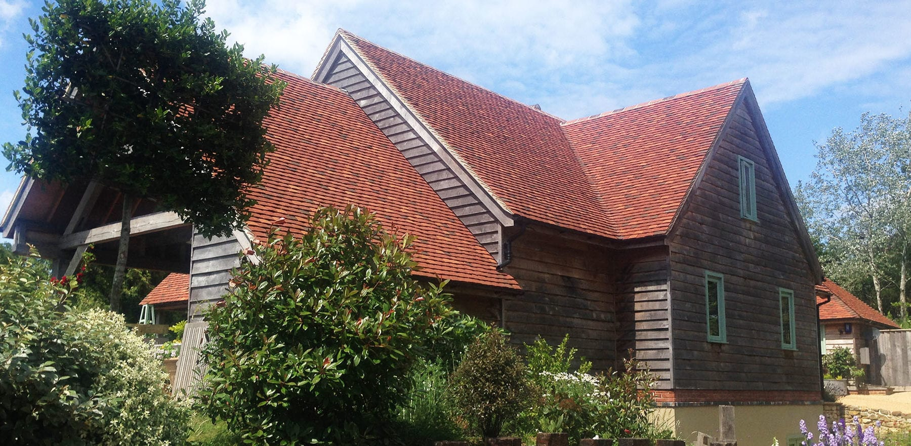 Lifestiles - Handmade Multi Clay Roof Tiles - Stephen Evans Architect, England 5