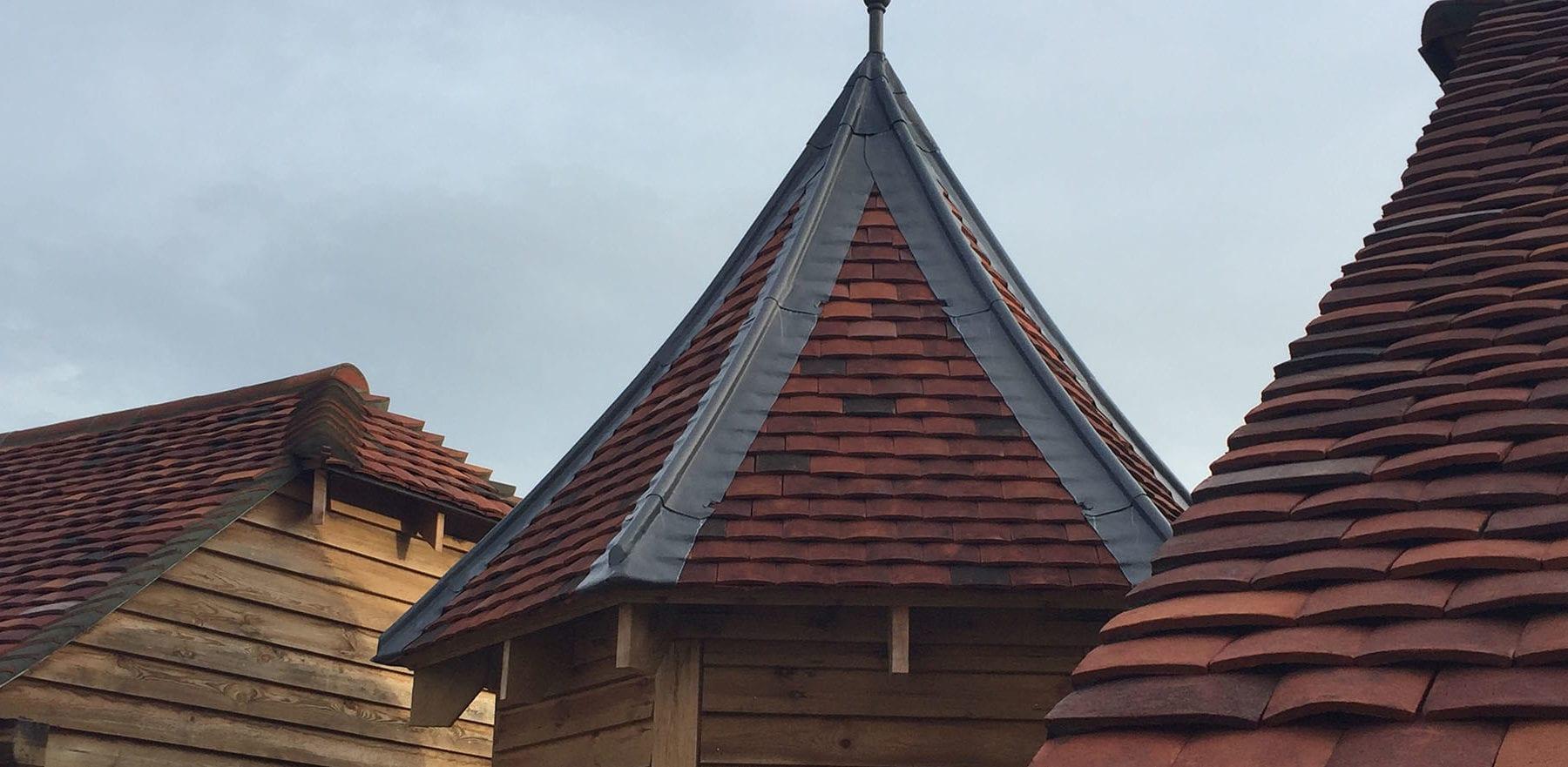 Lifestiles - Handmade Multi Clay Roof Tiles - Tenterden, England 5