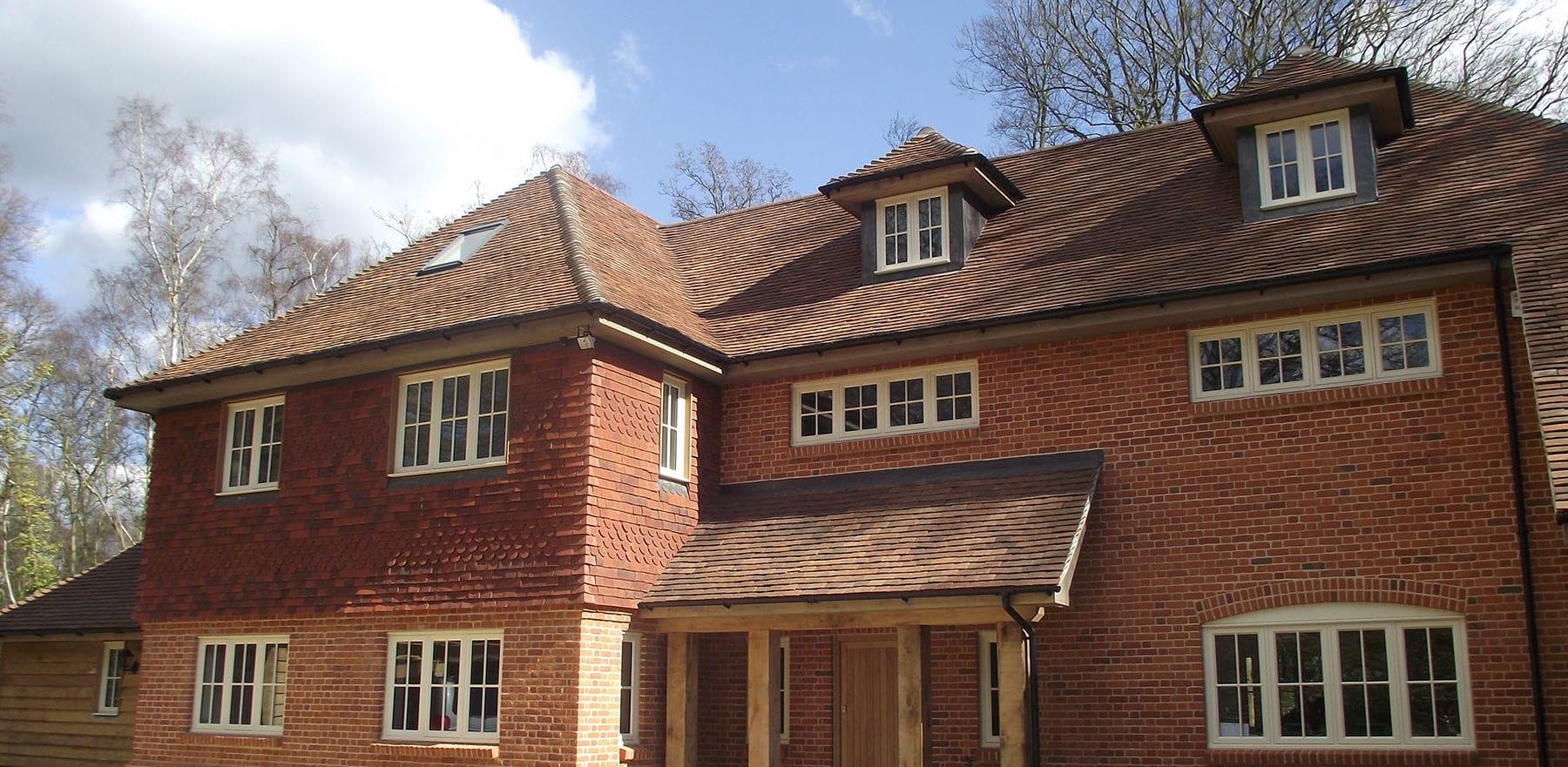Lifestiles - Handmade Brown Clay Roof Tiles - Romsey, England 5