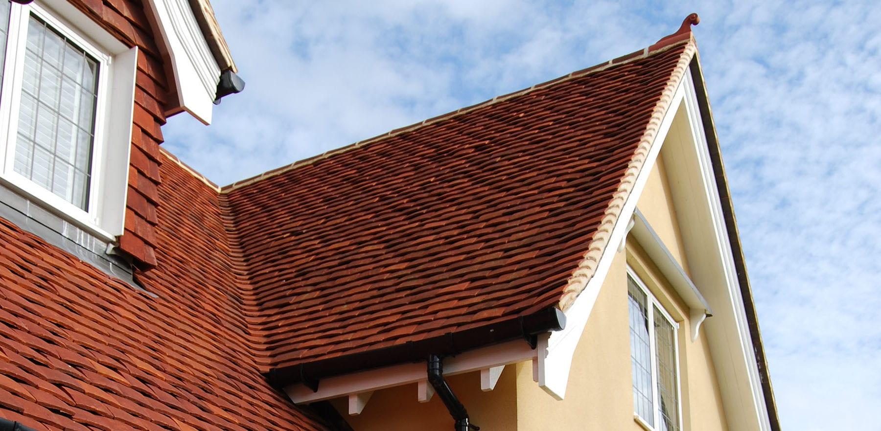 Lifestiles - Handmade Red Clay Roof Tiles - Rudley Oaks, England 4