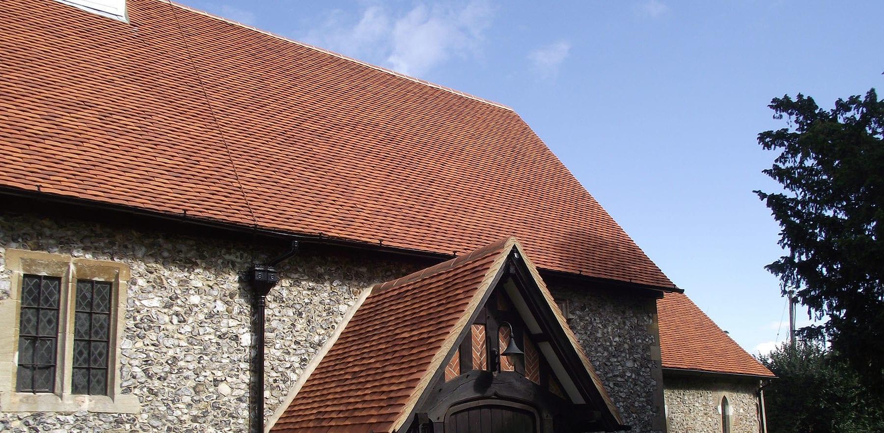 Lifestiles - Handmade Orange Clay Roof Tiles - Sulhampstead Abbot, England 5