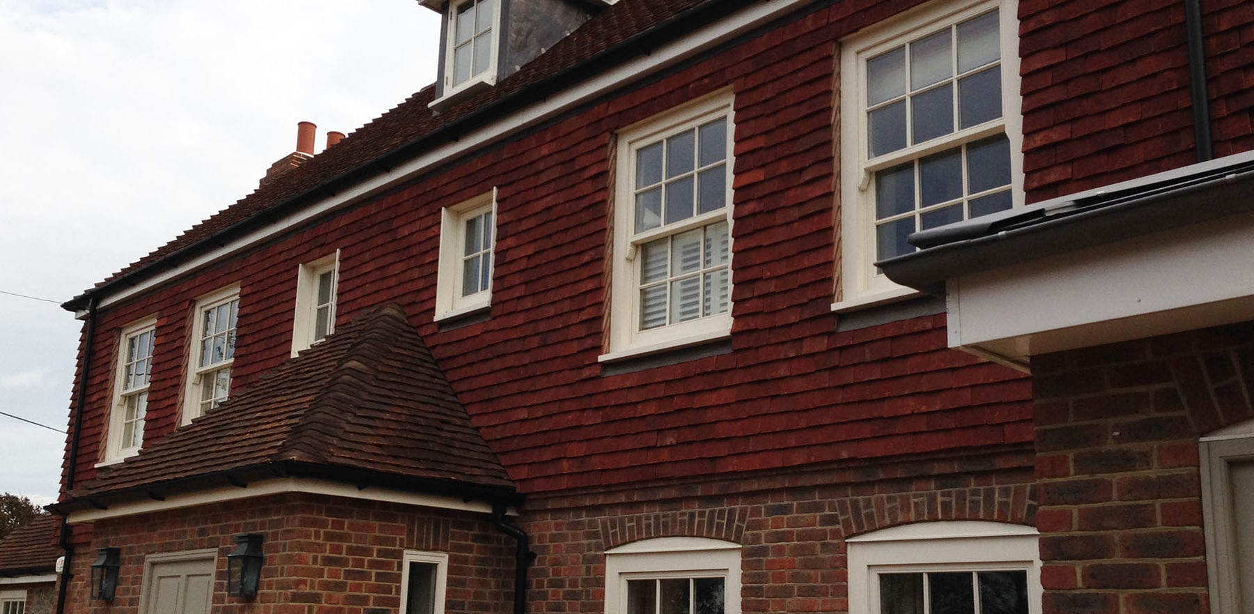 Lifestiles - Handmade Heather Clay Roof Tiles - Chidham, England 4
