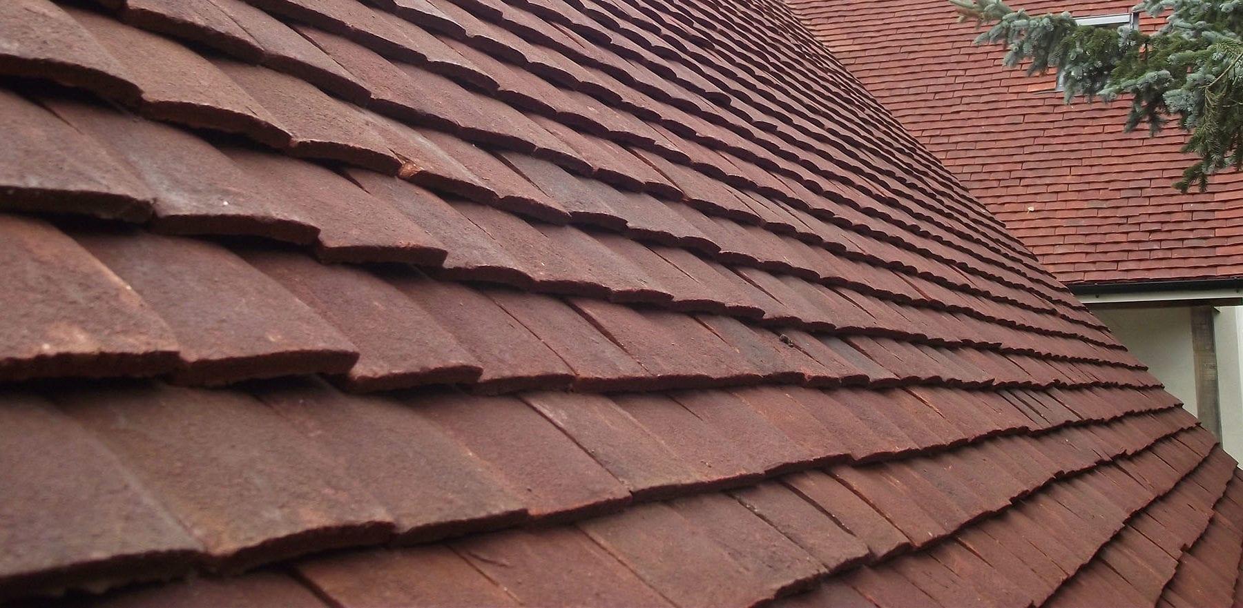 Lifestiles - Handmade Heather Clay Roof Tiles - Favant, England 4