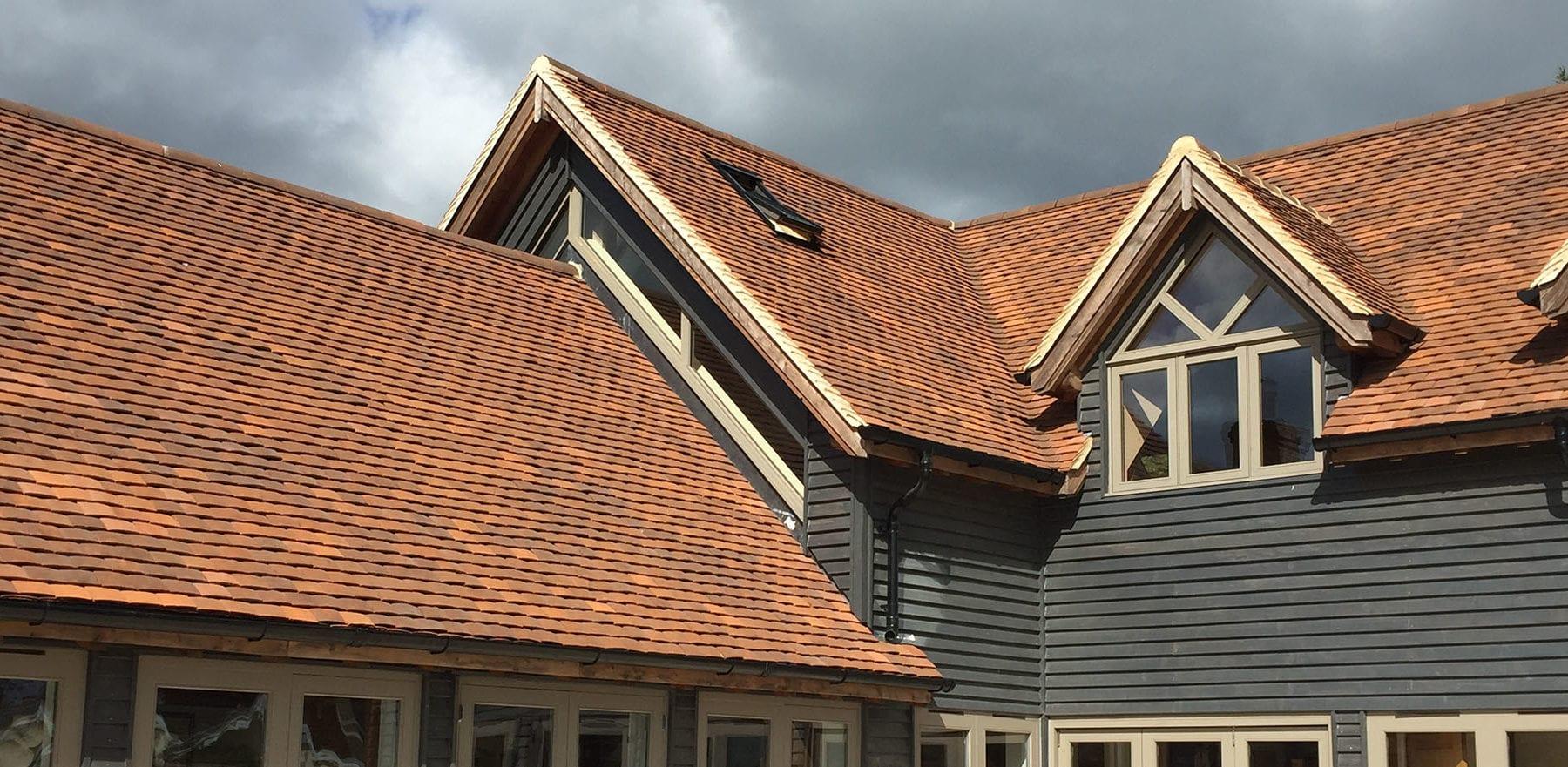 Lifestiles - Handmade Brown Clay Roof Tiles - Midgham, England 4