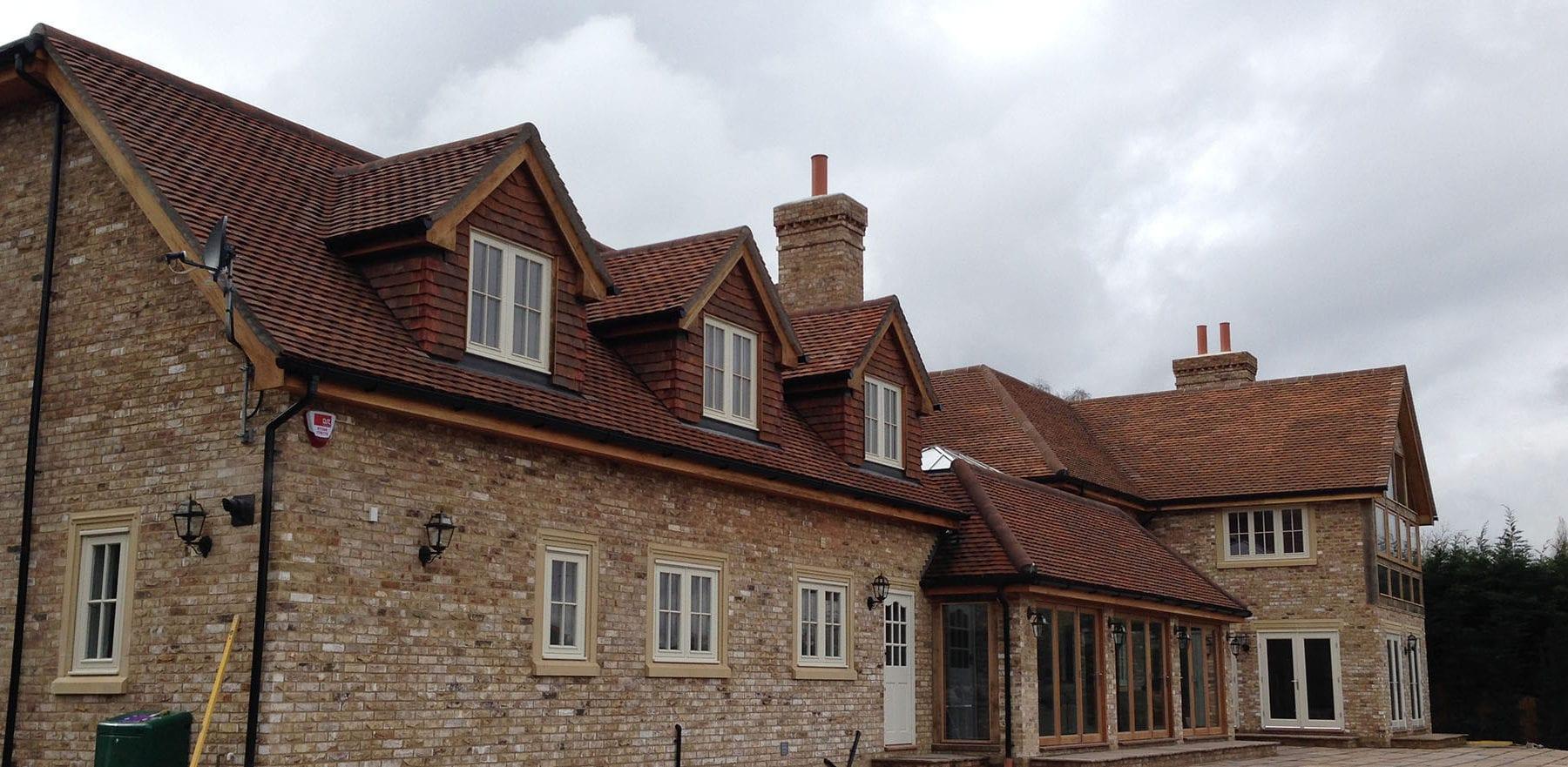 Lifestiles - Handmade Brown Clay Roof Tiles - Sunningdale, England 4