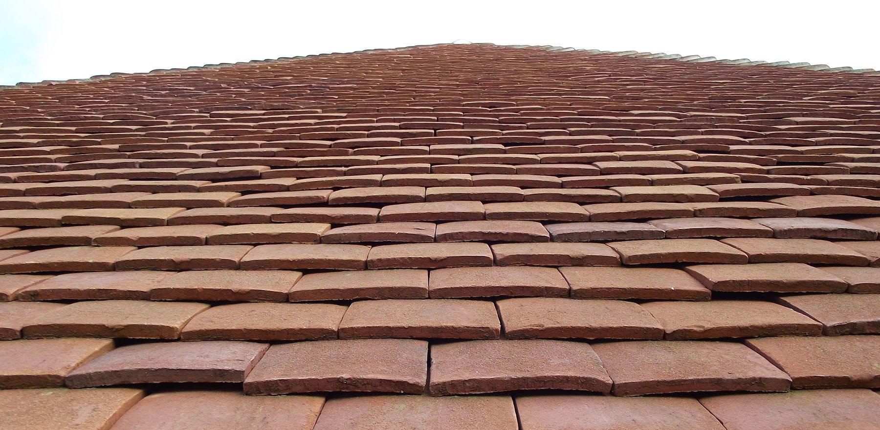 Lifestiles - Handmade Orange Clay Roof Tiles - Baughurst, England 8