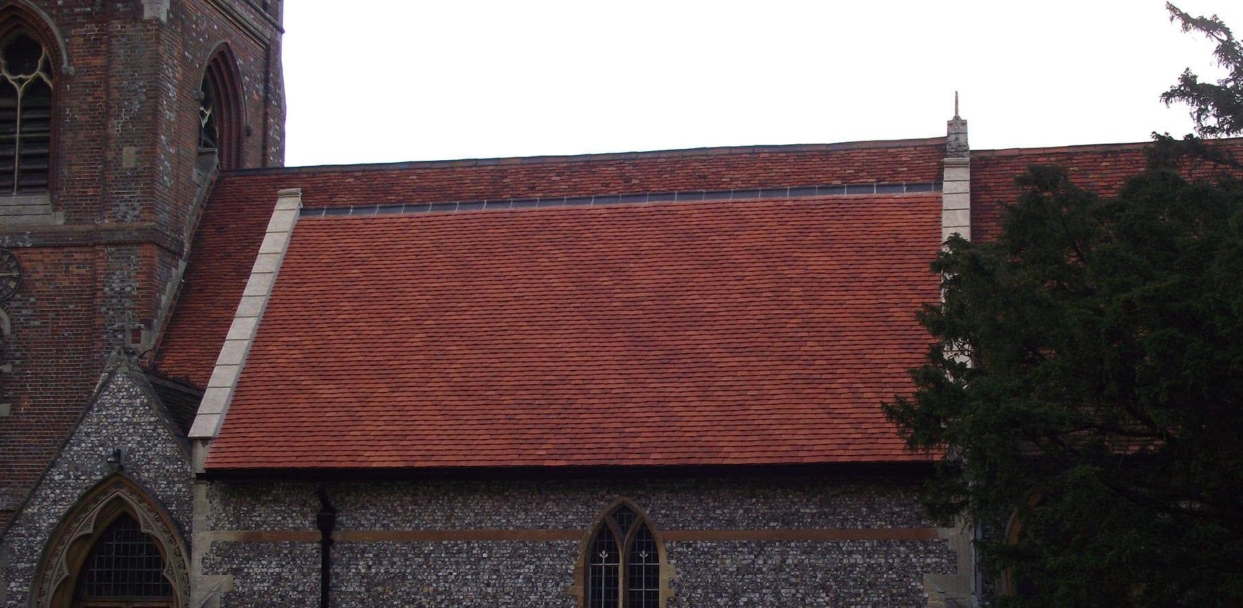 Lifestiles - Handmade Orange Clay Roof Tiles - Berkshire, England 4