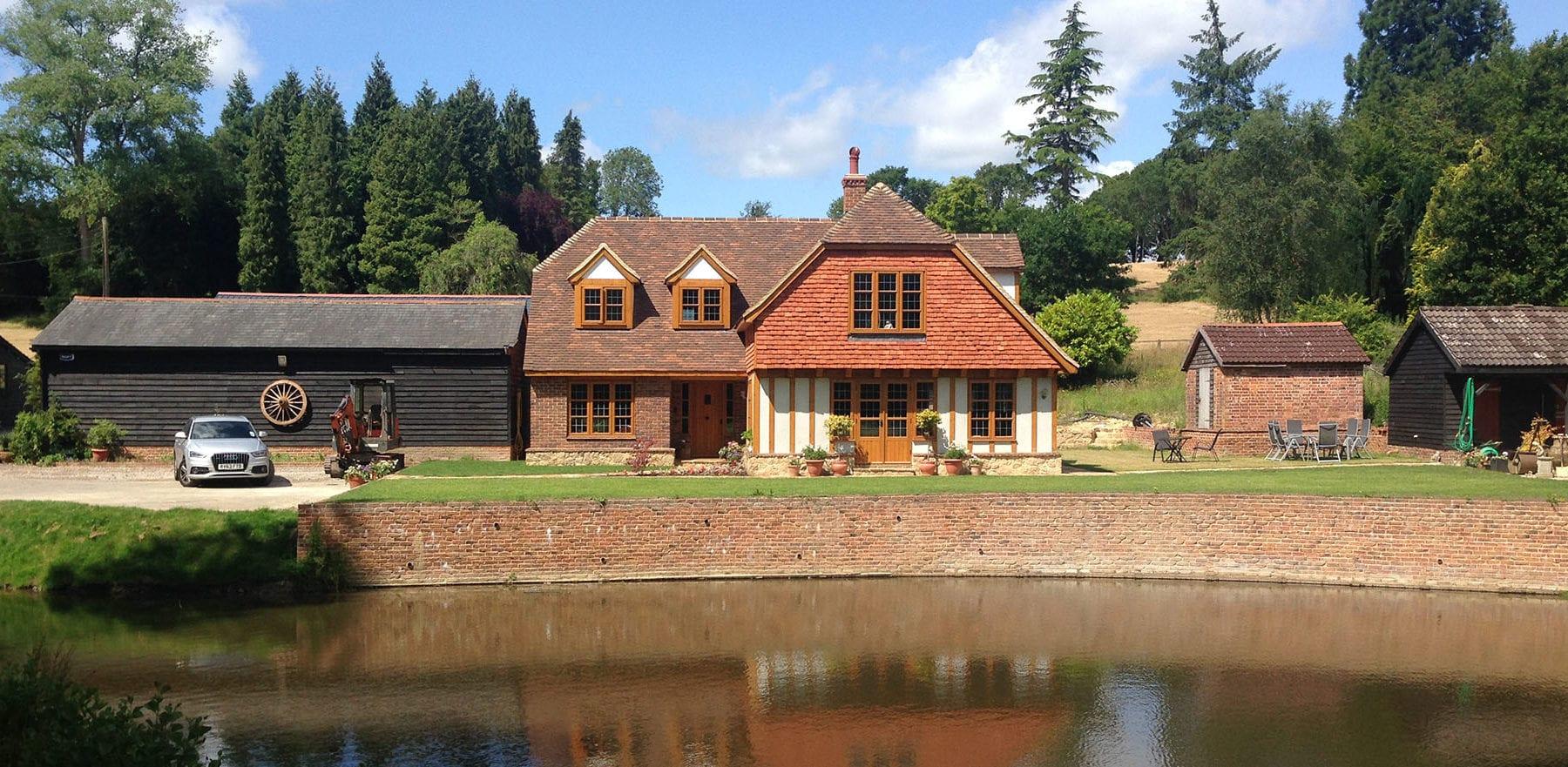 Lifestiles - Handmade Bespoke Clay Roof Tiles - Rotherfield, England 4