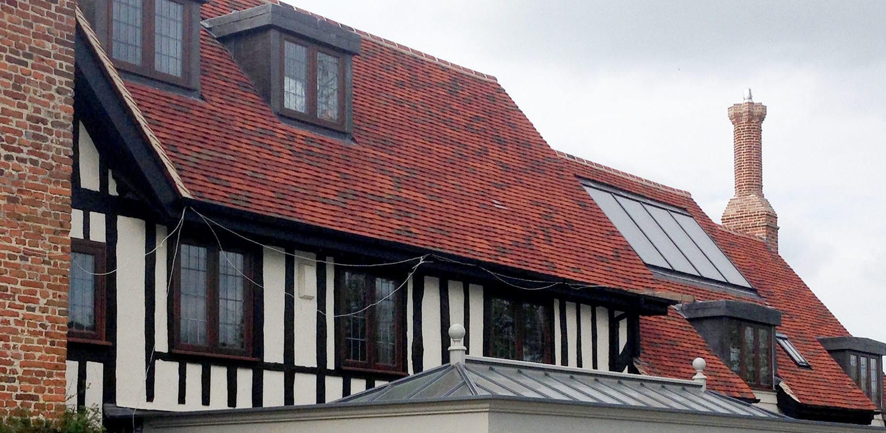 Lifestiles - Handmade Bespoke Clay Roof Tiles - Tudor Park, England 4