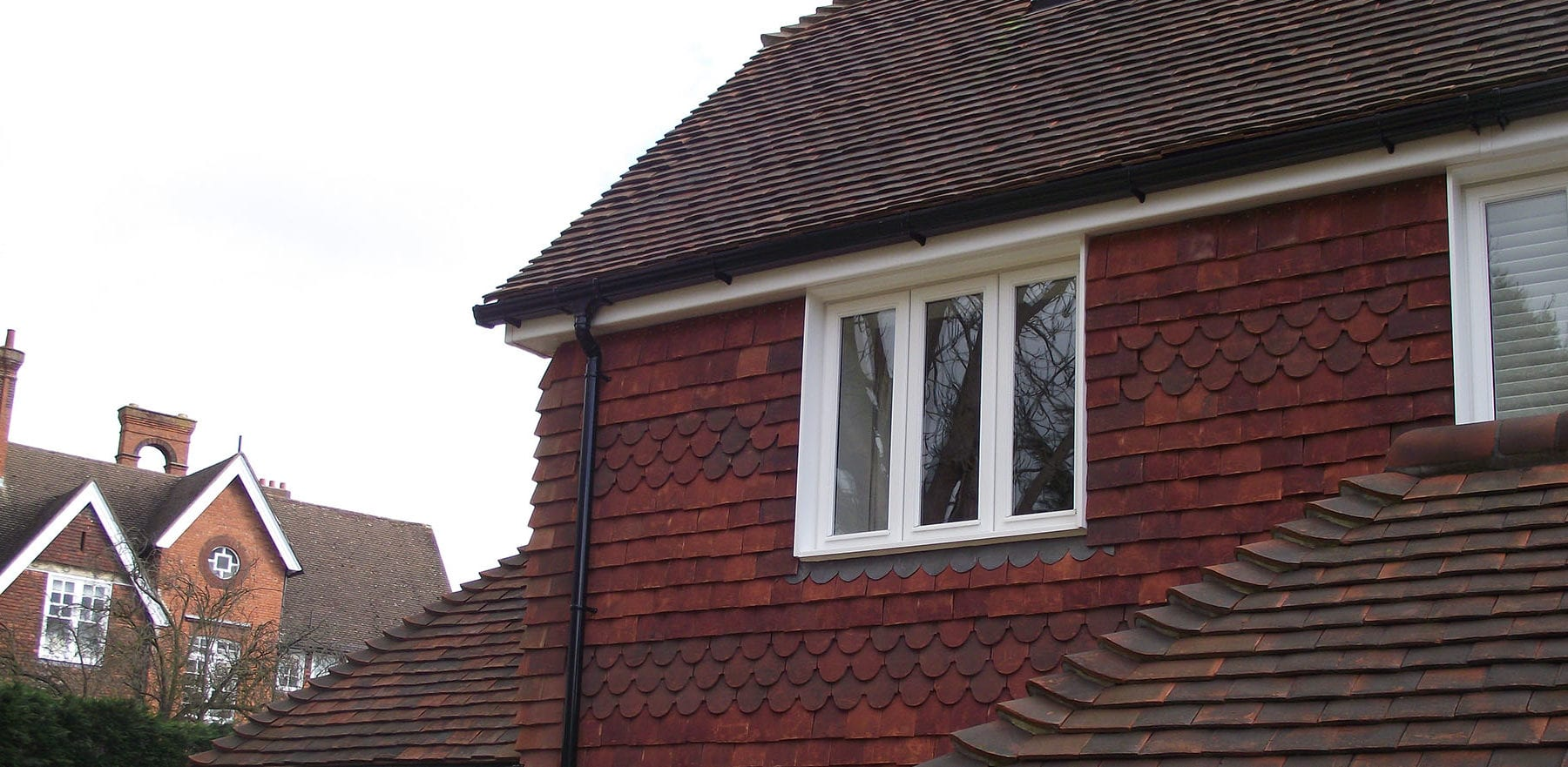 Lifestiles - Handcrafted Autumn Clay Roof Tiles - Seven Oaks, England 4
