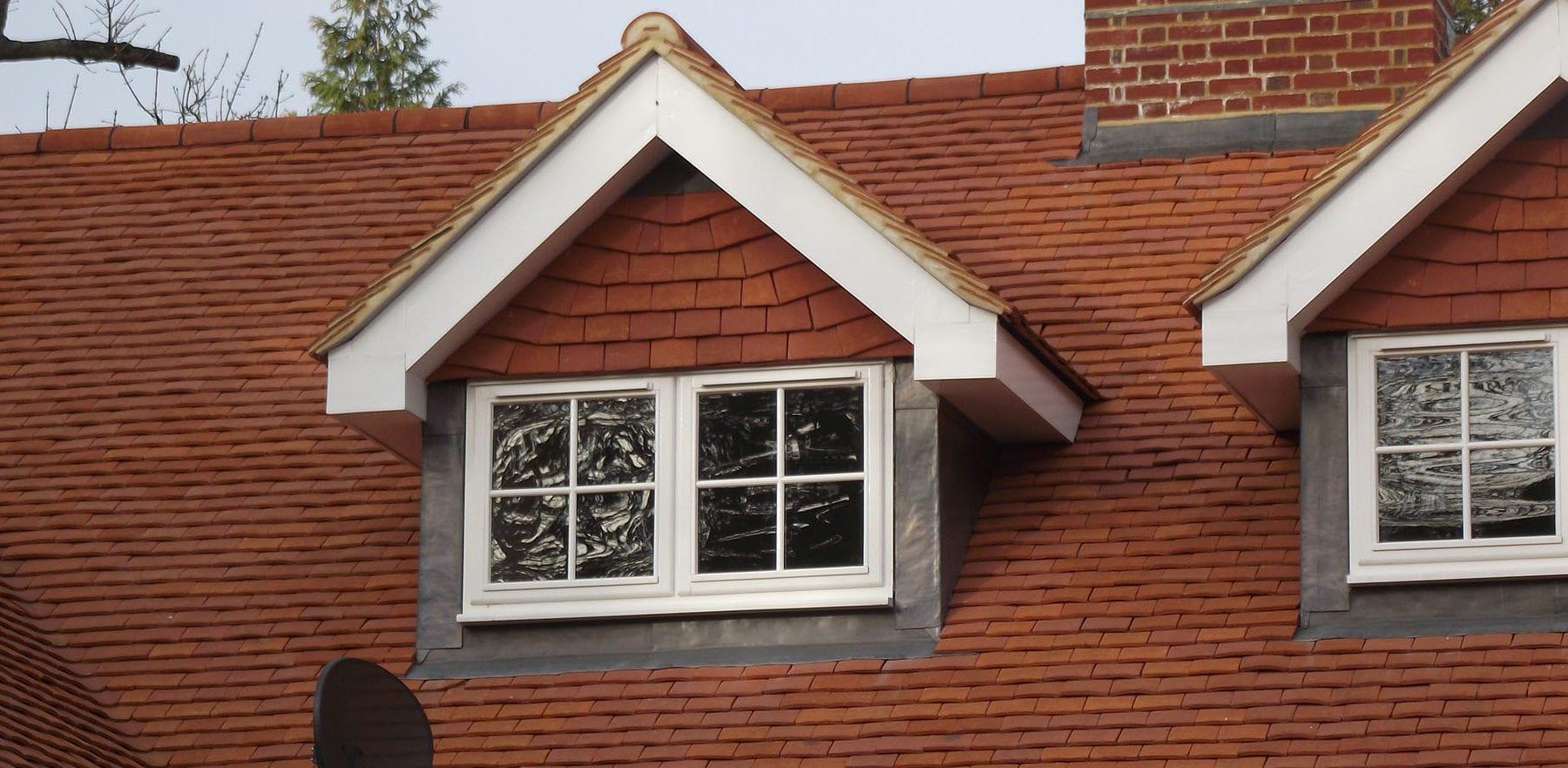 Lifestiles - Handcrafted Orange Clay Roof Tiles - Farningham, England 4