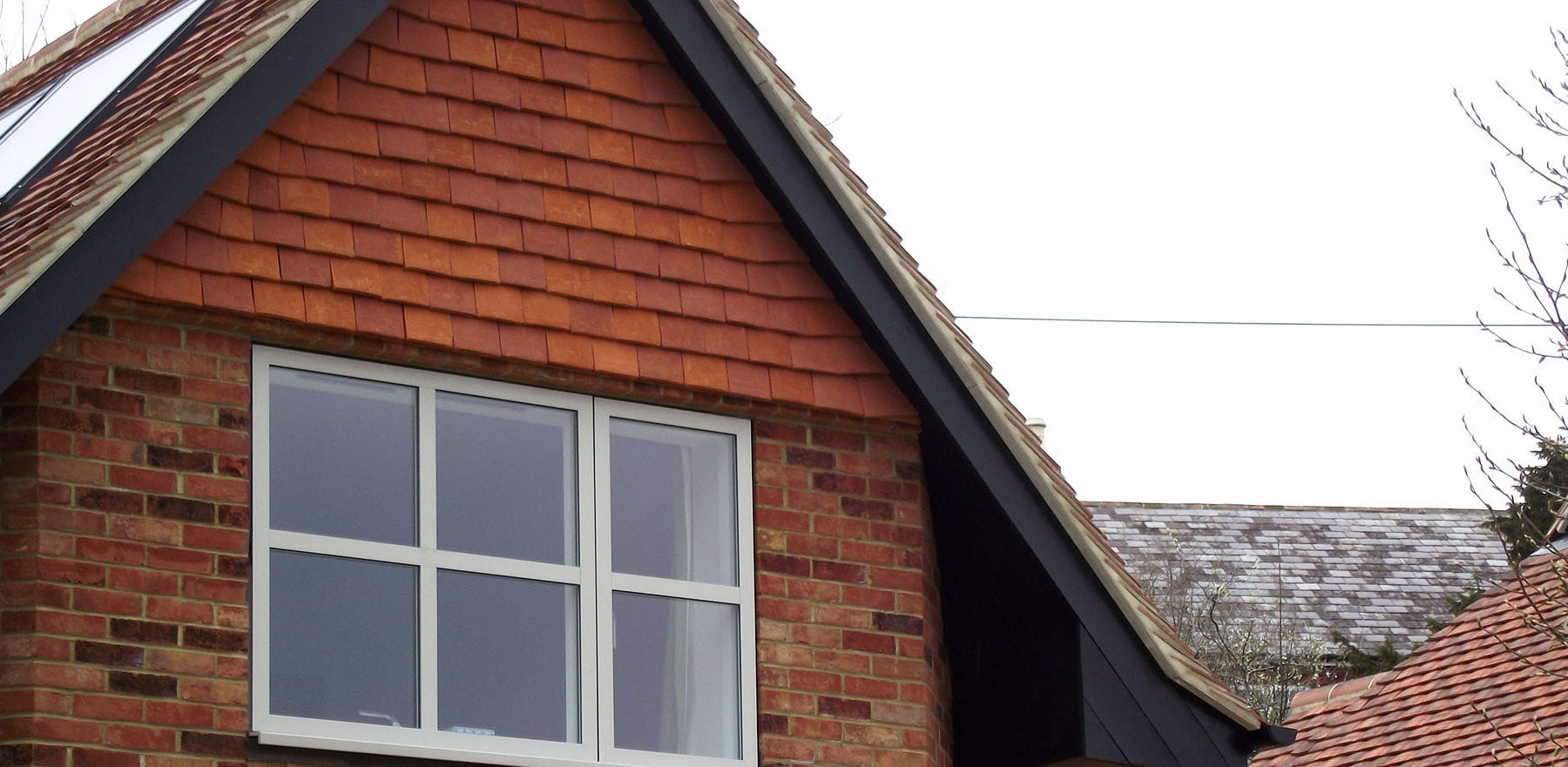 Lifestiles - Handcrafted Orange Clay Roof Tiles - Liss, England 4