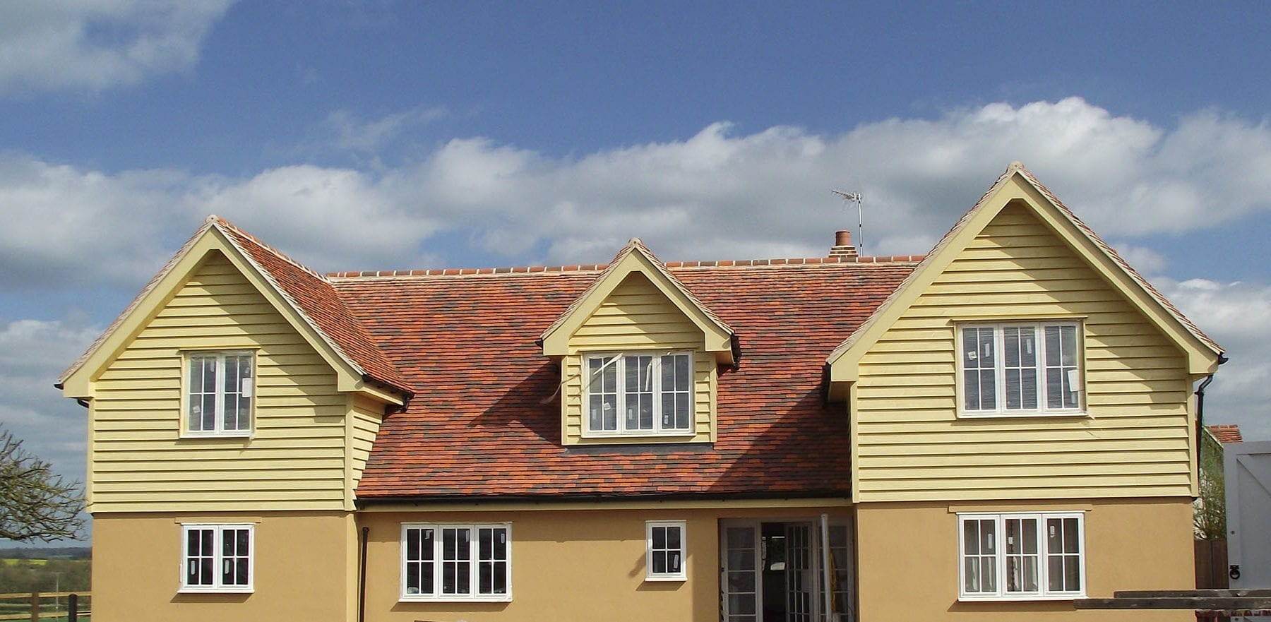 Lifestiles - Handcrafted Tilehurst Clay Roof Tiles - Clavering, England 4
