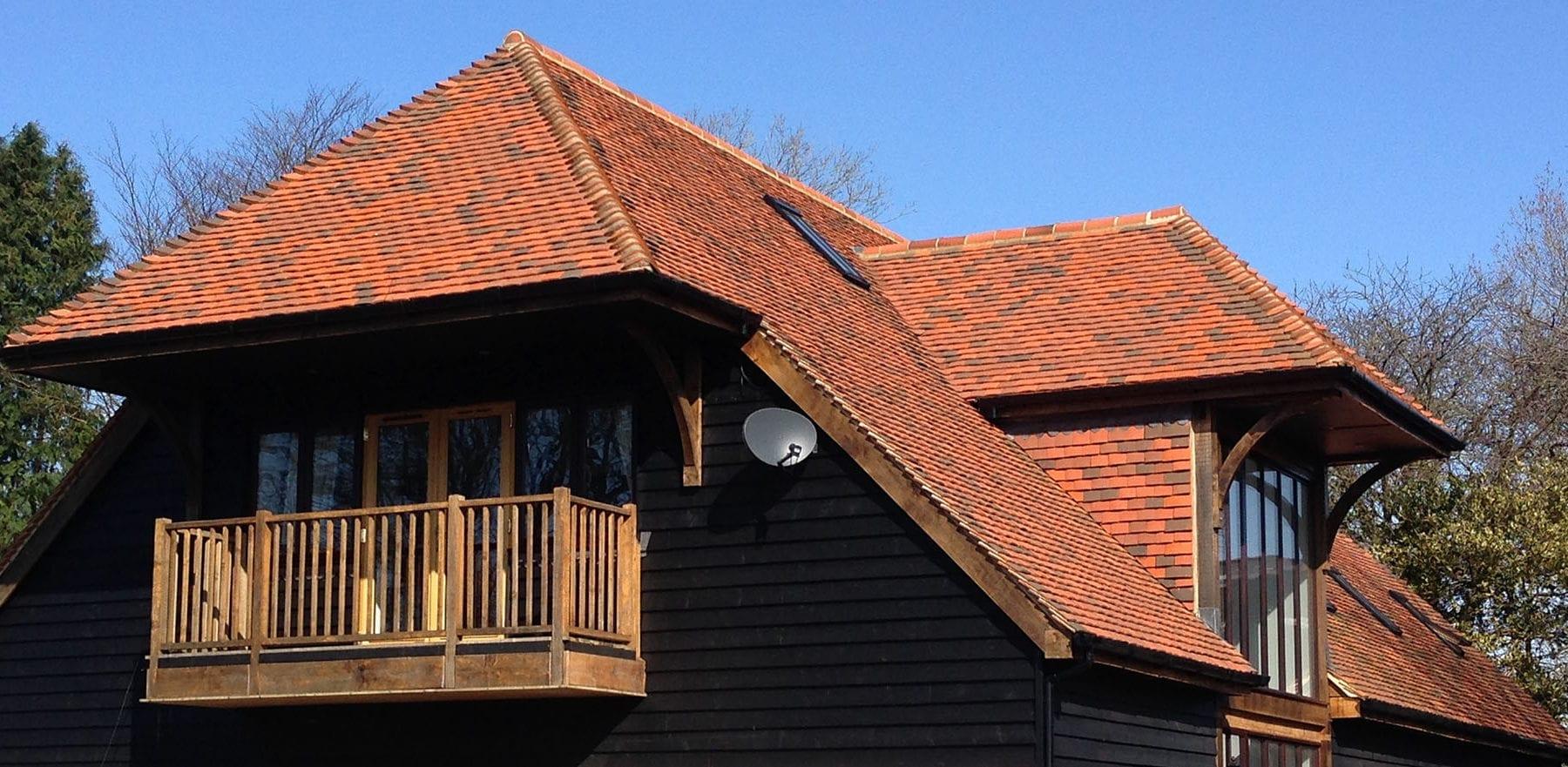 Lifestiles - Handcrafted Tilehurst Clay Roof Tiles - Folkstone, England 4