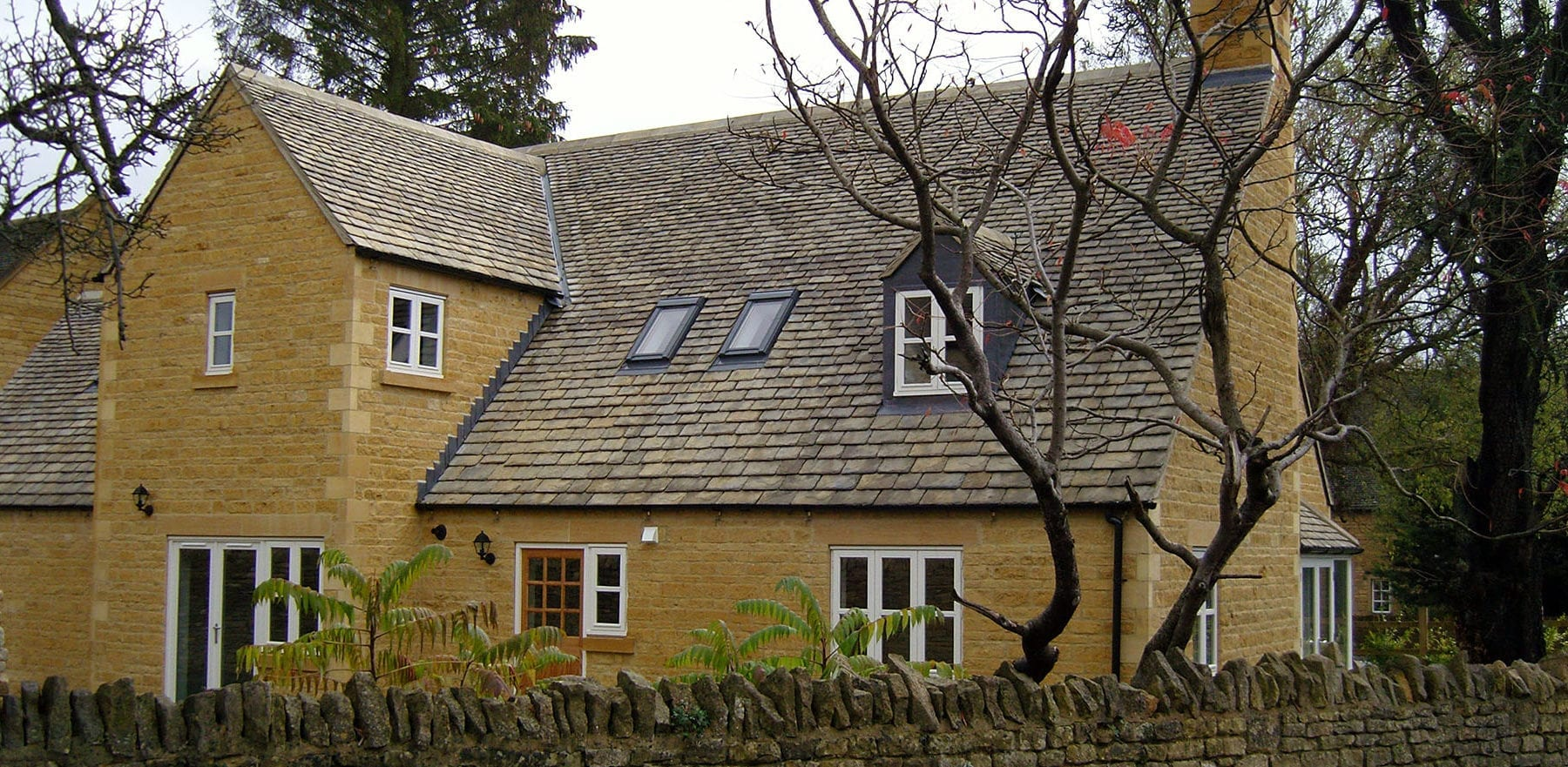 Lifestiles - Natural Stone Aged Roof Tiles - Cirencester, England 4