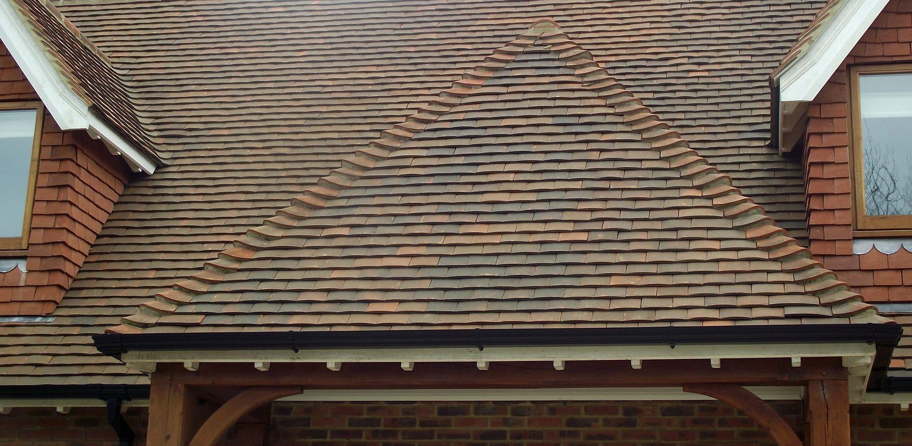 Lifestiles - Handcrafted Autumn Clay Roof Tiles - Sussex, England 5
