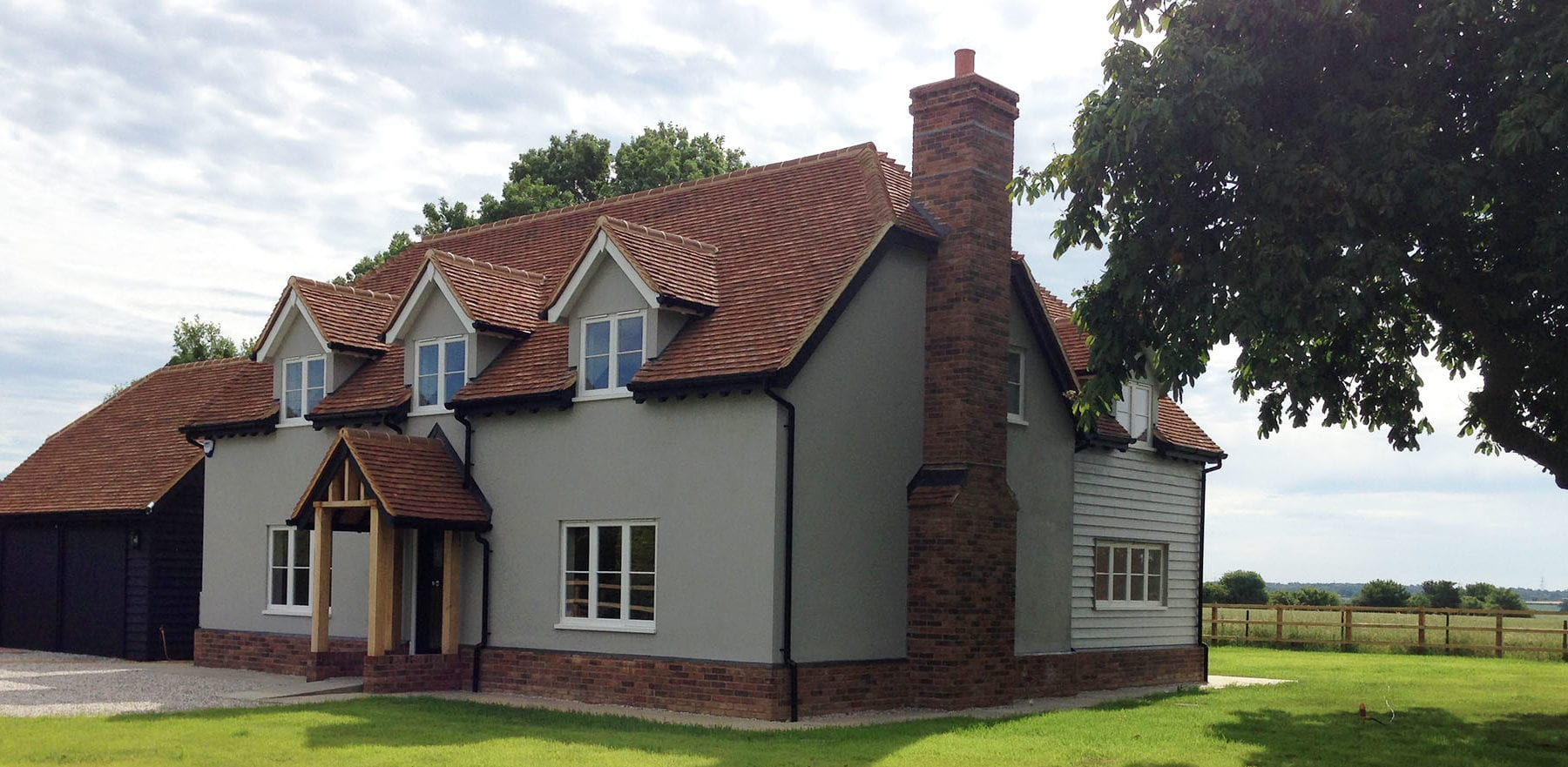 Lifestiles - Handcrafted Foxearth Clay Roof Tiles - Yeldham, England 6