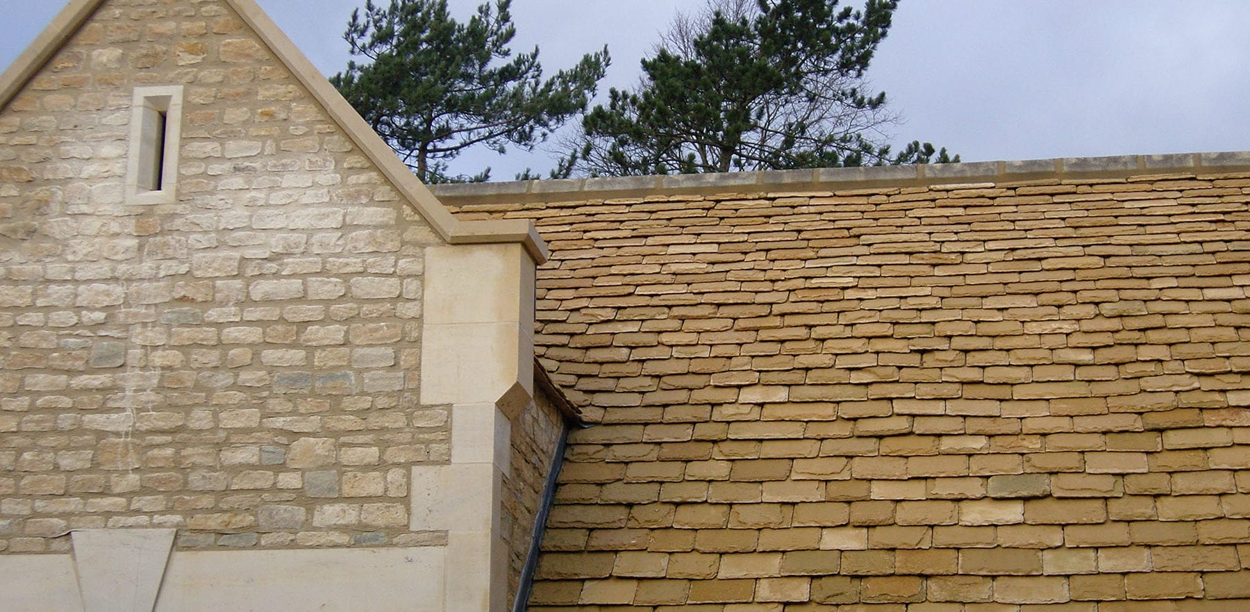 Lifestiles - Natural Stone Roof Tiles - The Stables, England 6