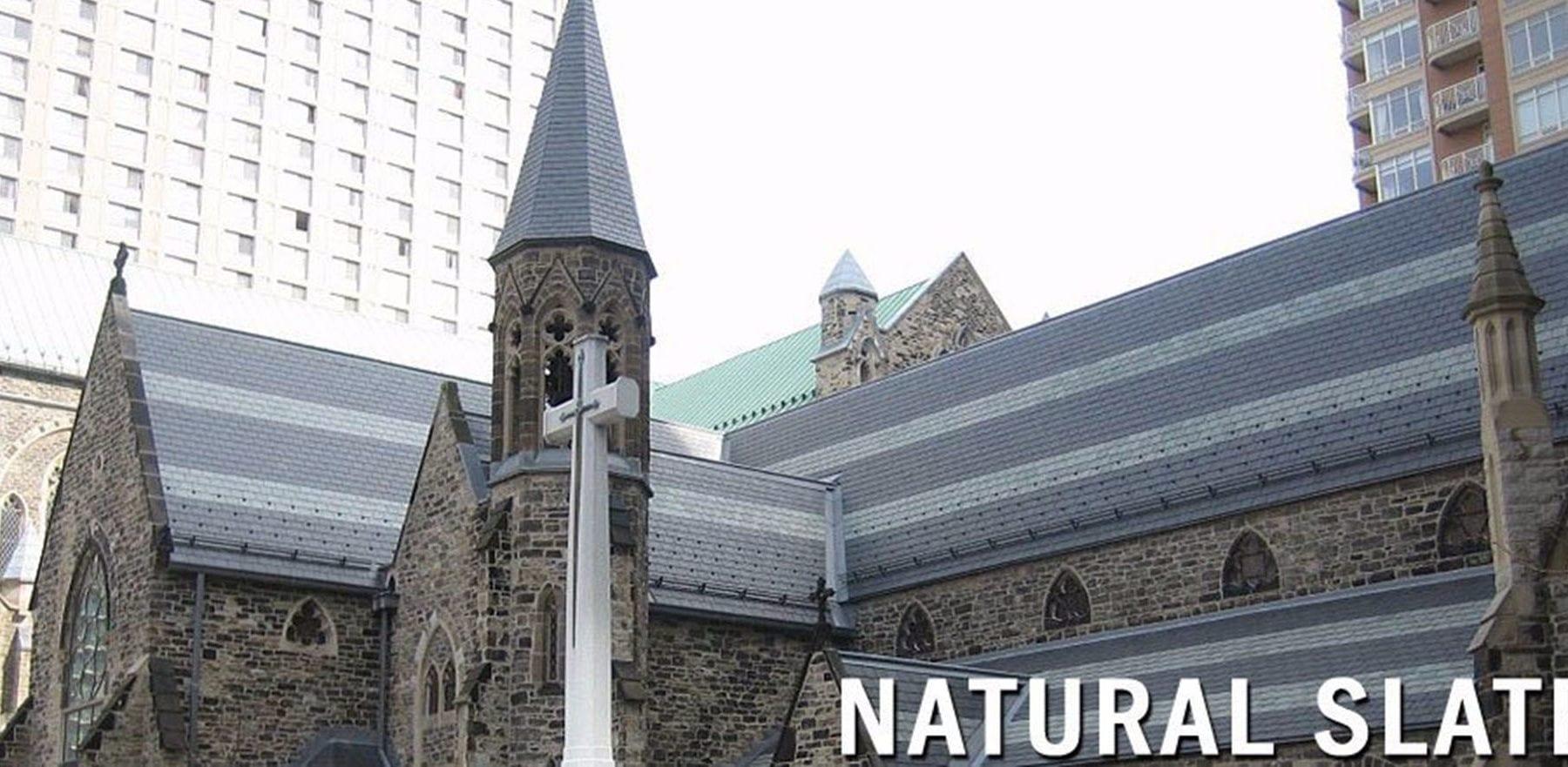 Lifestiles - Canadian Natural Slate Roof Tiles - Various, England 6