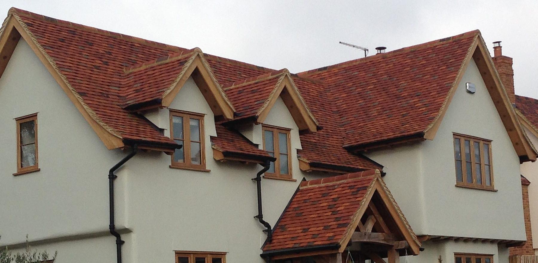 Lifestiles - Handmade Multi Clay Roof Tiles - Manuden, England 5
