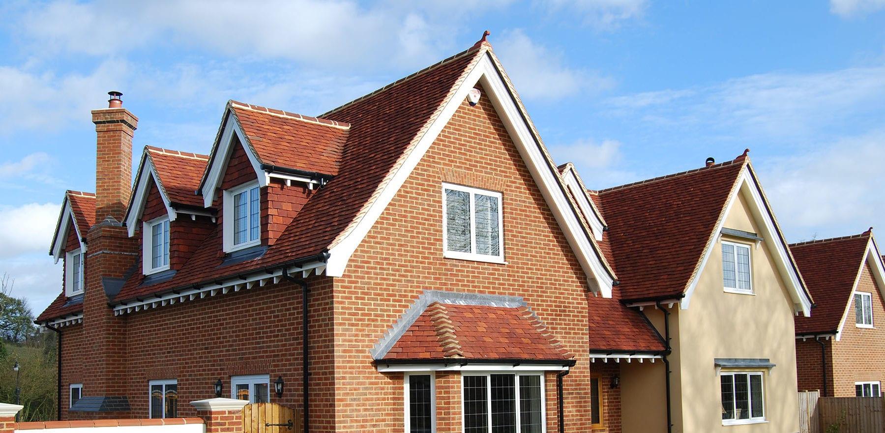 Lifestiles - Handmade Red Clay Roof Tiles - Rudley Oaks, England 5