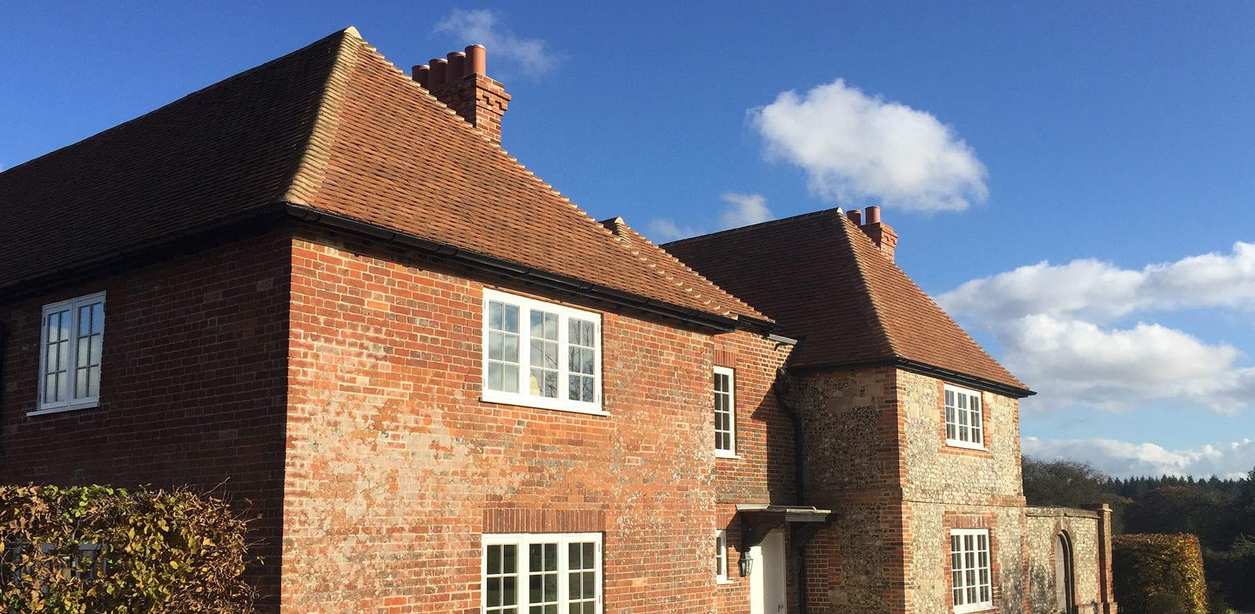 Lifestiles - Handmade Heather Clay Roof Tiles - Barlow, England 5